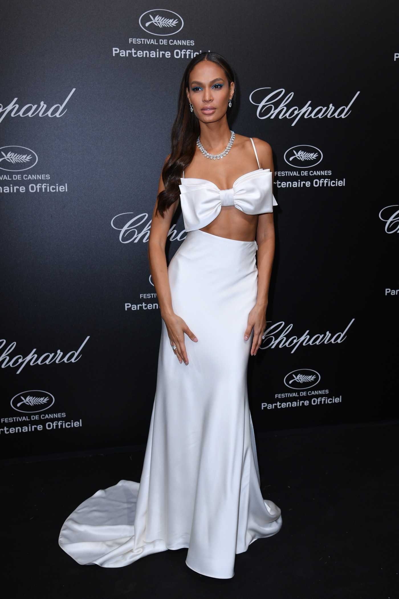 Joan Smalls at the Secret Chopard Party During the 71st Annual Cannes Film Festival 05/11/2018