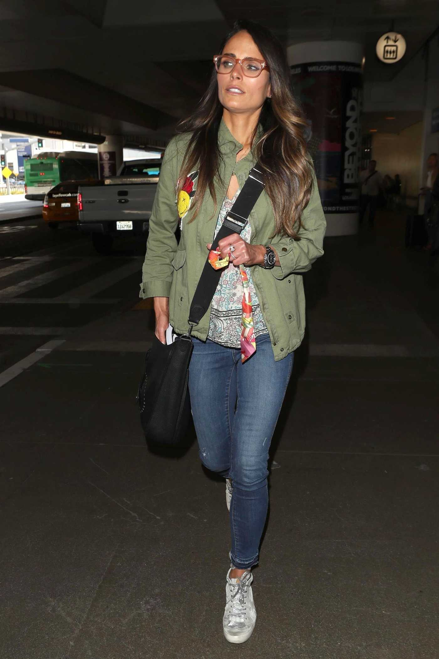 Jordana Brewster Was Seen at LAX Airport in Los Angeles 05/03/2018