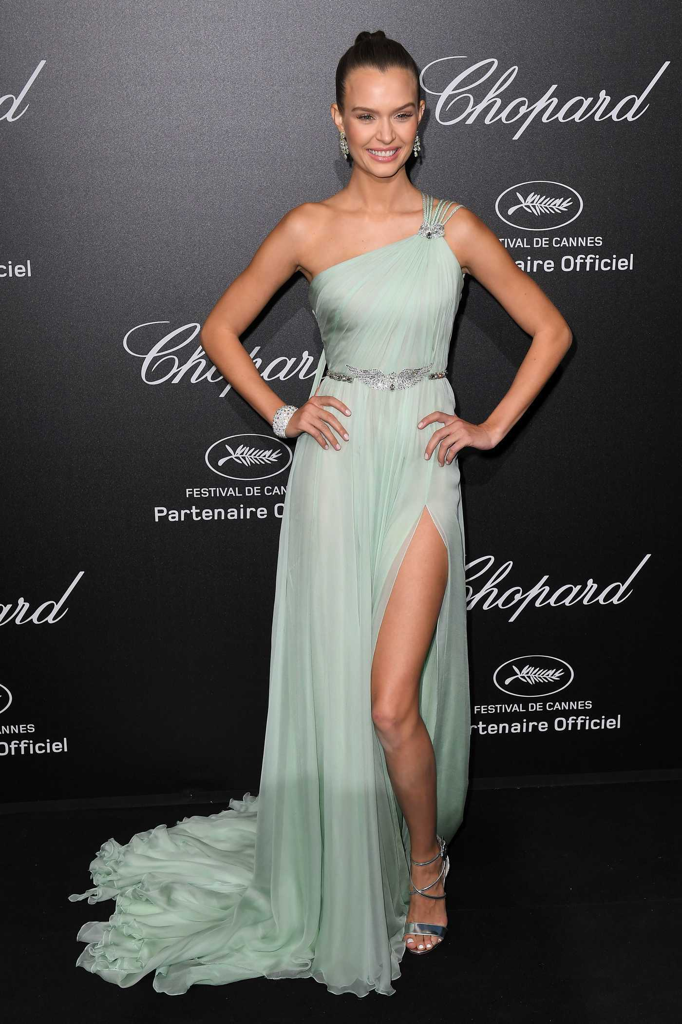 Josephine Skriver at the Secret Chopard Party During the 71st Annual Cannes Film Festival 05/11/2018