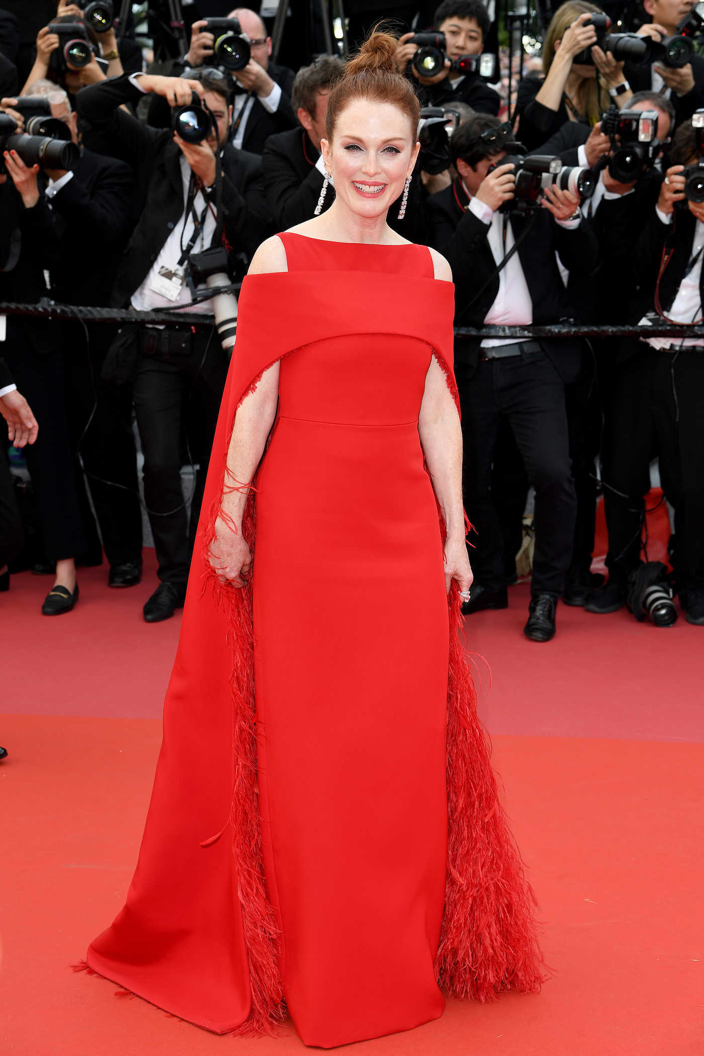 Julianne Moore at Everybody Knows Premiere During the 71st Cannes Film Festival 05/08/2018