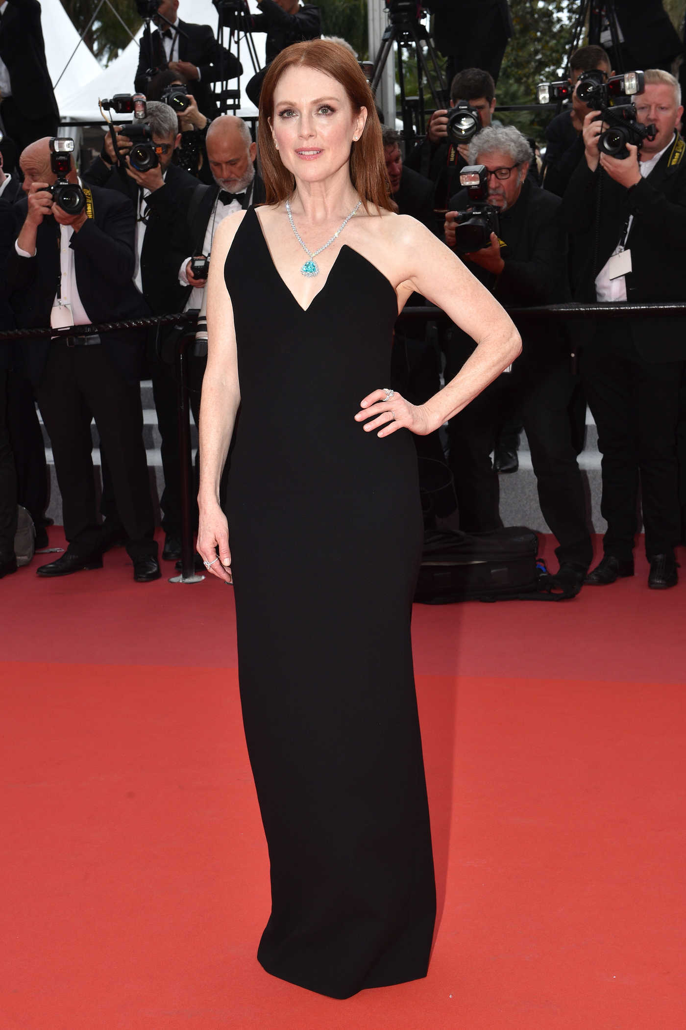 Julianne Moore at Yomeddine Premiere During the 71st Cannes Film Festival in Cannes 05/09/2018
