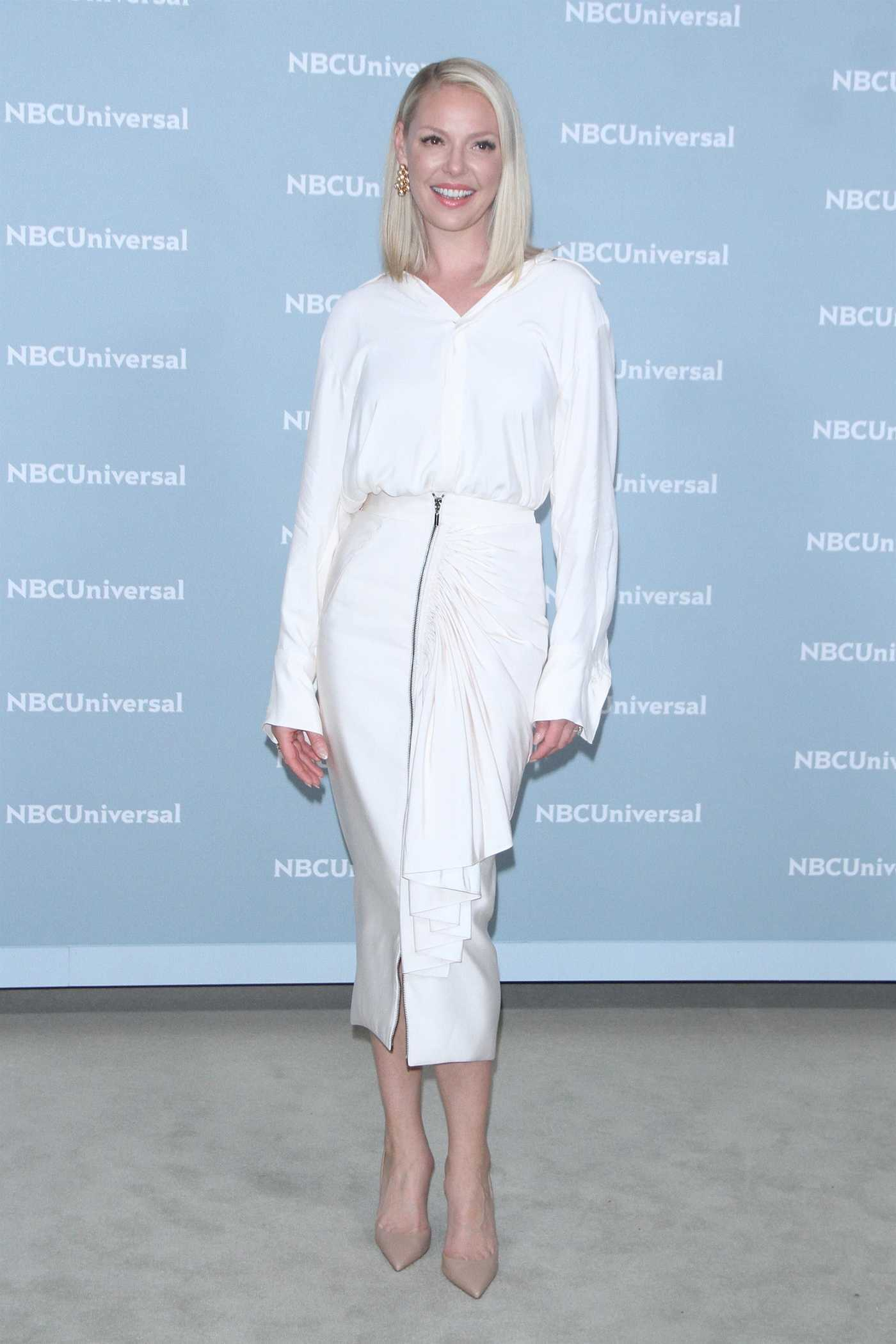 Katherine Heigl at NBCUniversal Upfront Presentation in New York City 05/14/2018