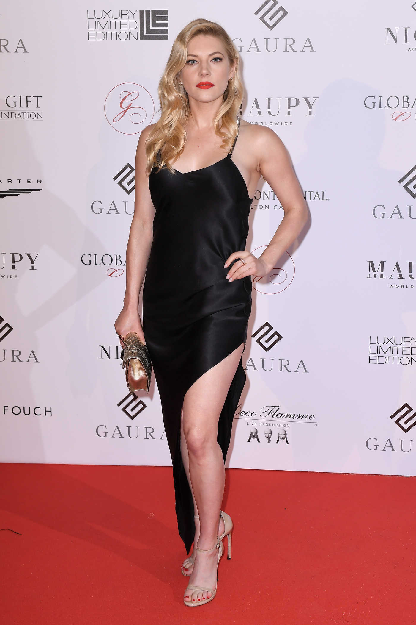 Katheryn Winnick at the Global Gift Initiative During the 71st Cannes Film Festival in Cannes 05/10/2018