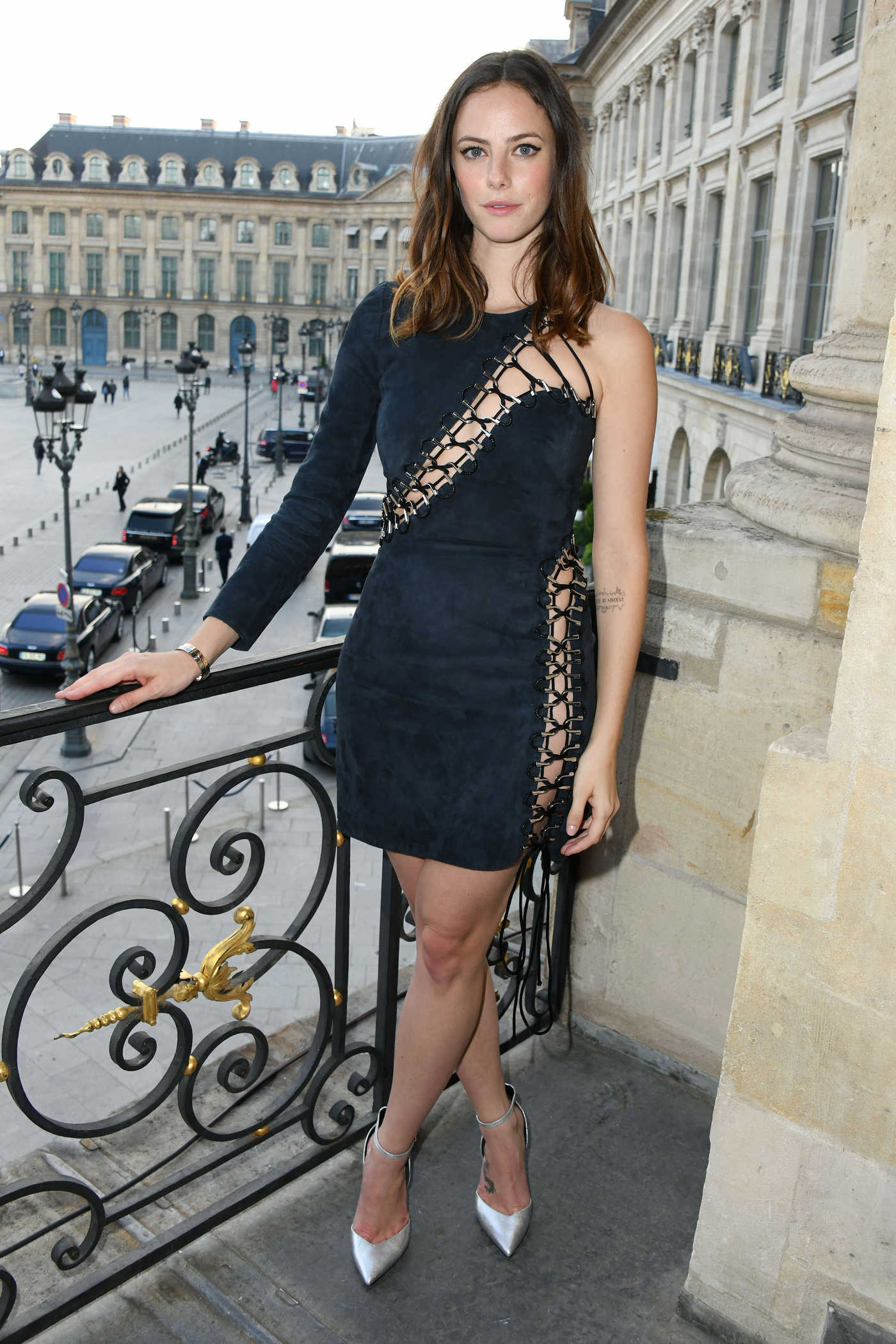 Kaya Scodelario at the Karl Lagerfeld and ModelCo. Make Up Line Launch in Paris 05/15/2018