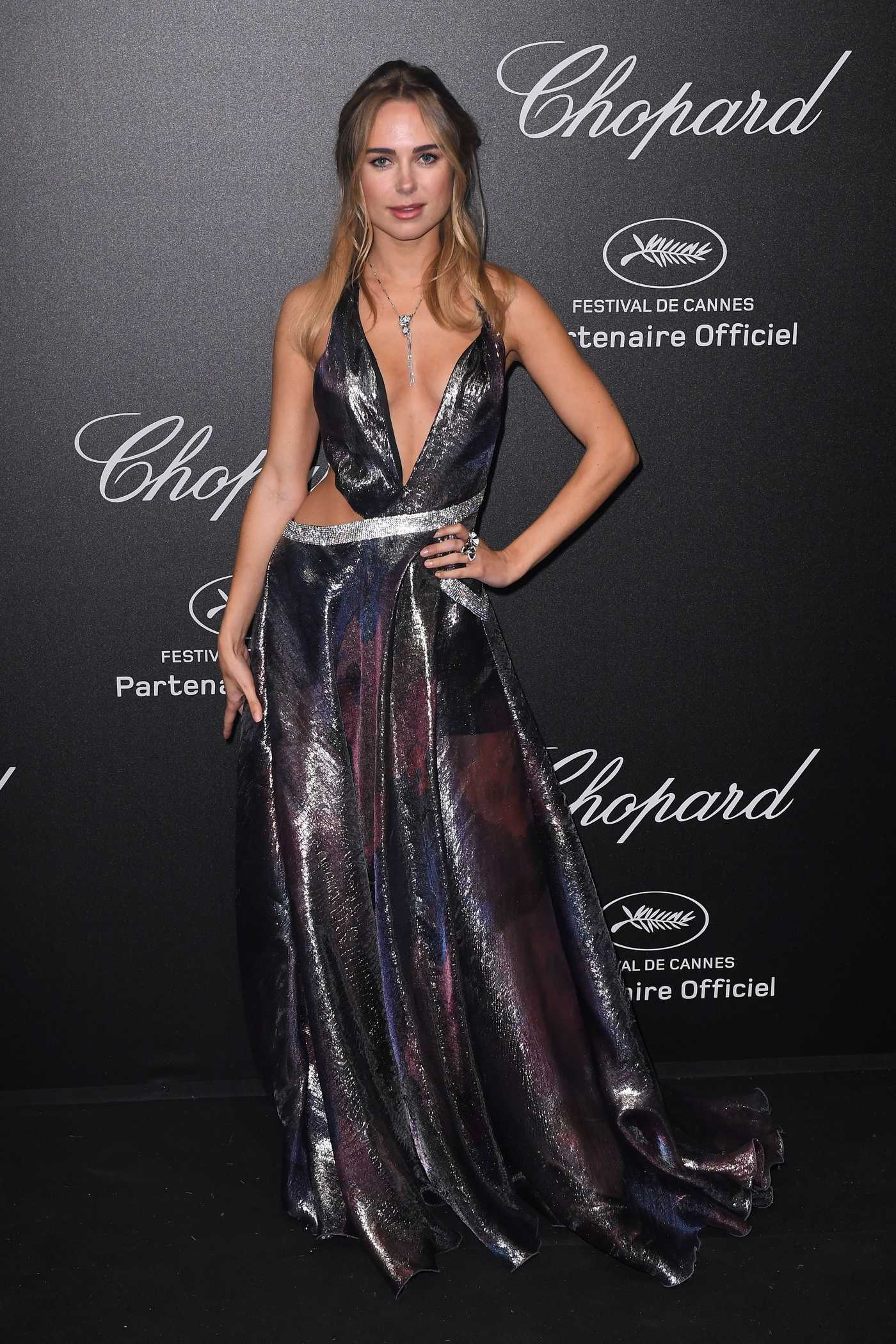Kimberley Garner at the Secret Chopard Party During the 71st Annual Cannes Film Festival 05/11/2018