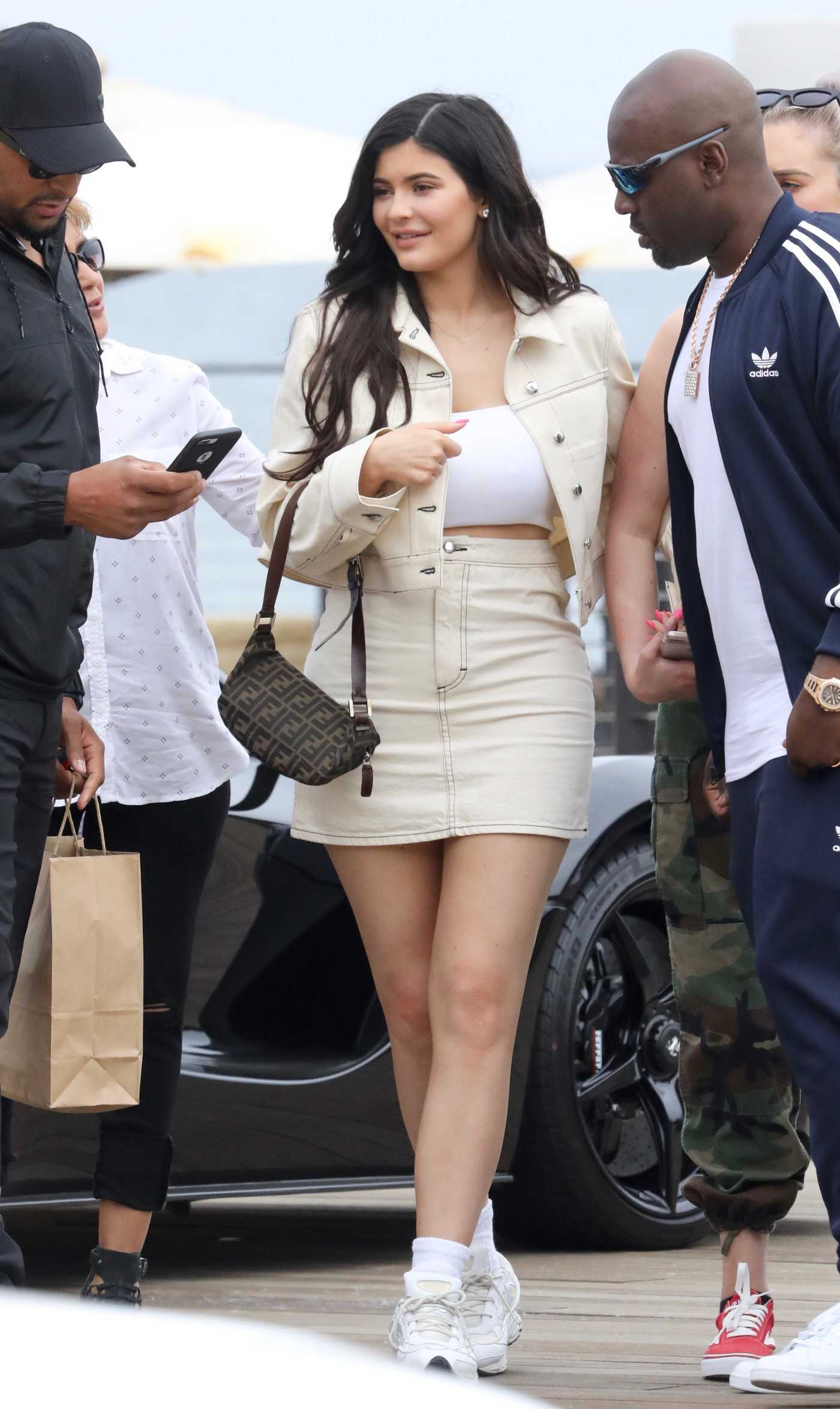 Kylie Jenner Heads to Lunch in Malibu 05/19/2018