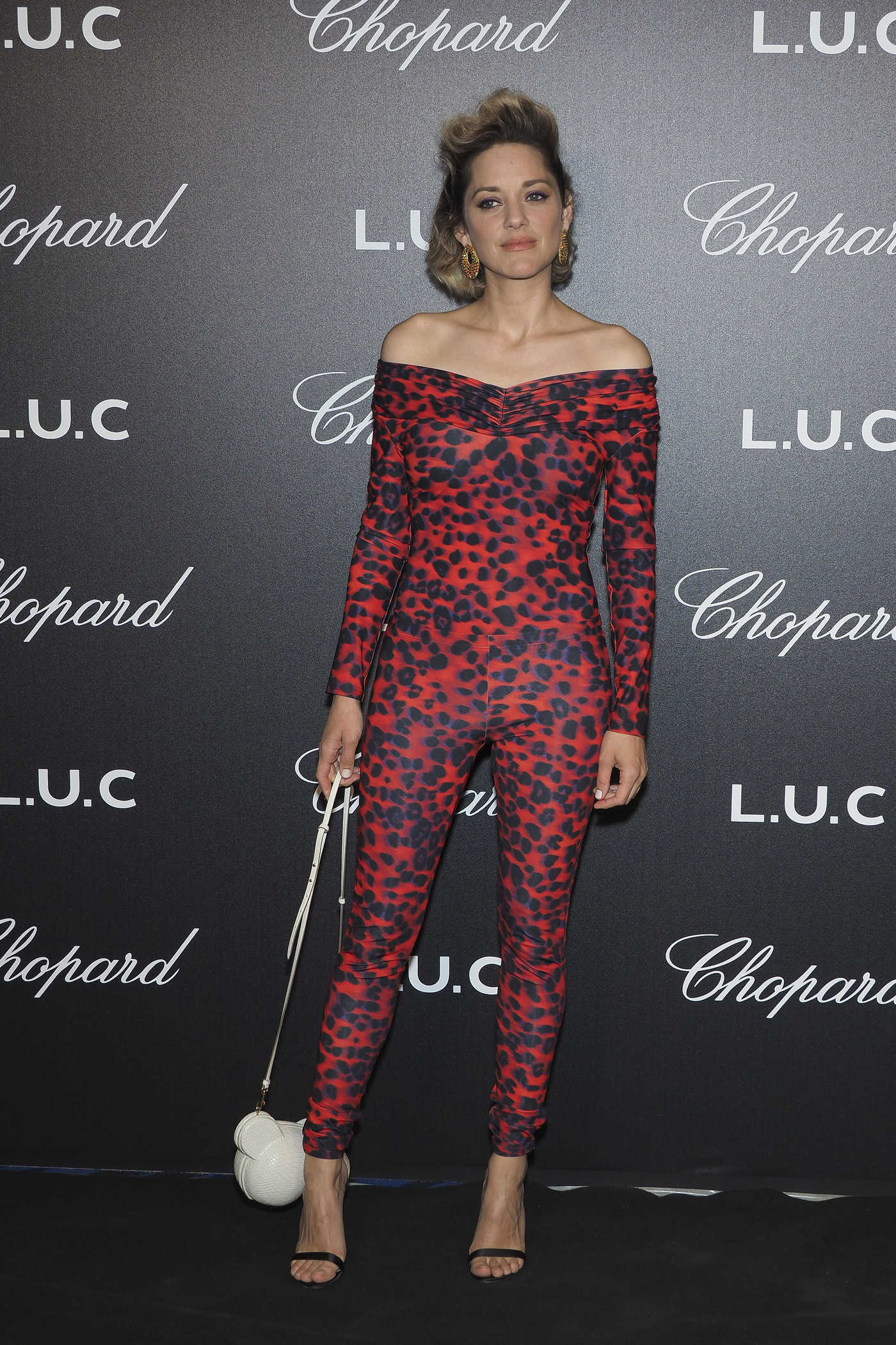 Marion Cotillard Attends the Chopard Gentleman's Night During the 71st Annual Cannes Film Festival in Cannes 05/09/2018