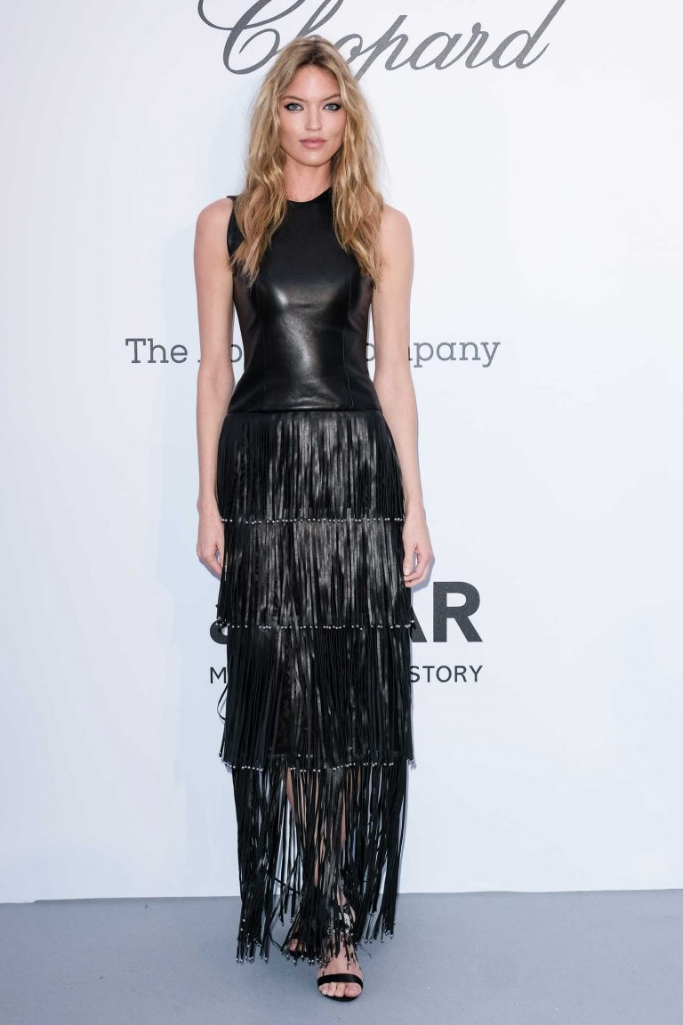 Martha Hunt at amfAR's 25th Cinema Against AIDS Gala During the 71st Cannes Film Festival in Cannes 05/17/2018-1