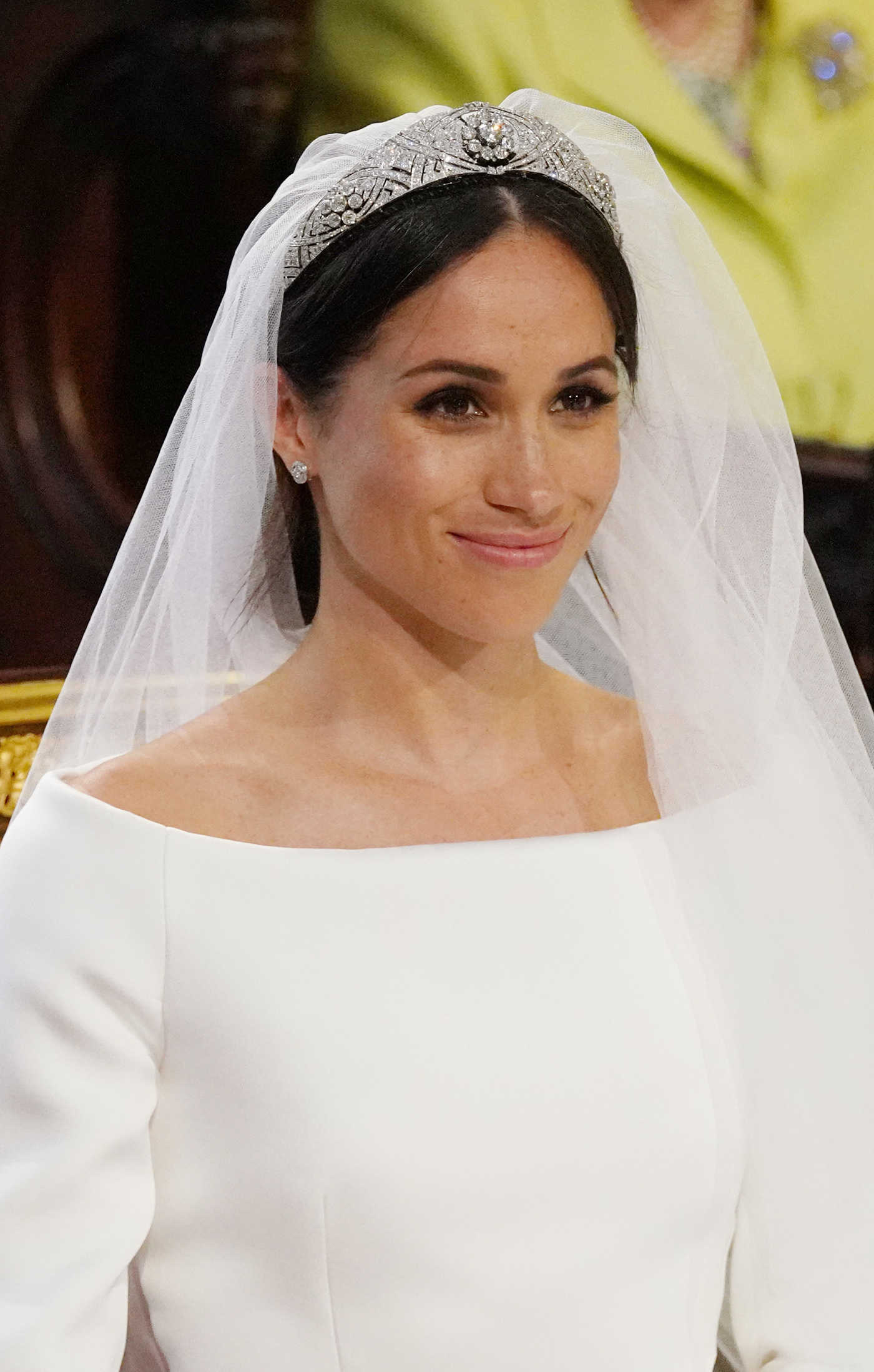 Meghan Markle at St George's Chapel to Wed Prince Harry in Windsor 05/19/2018