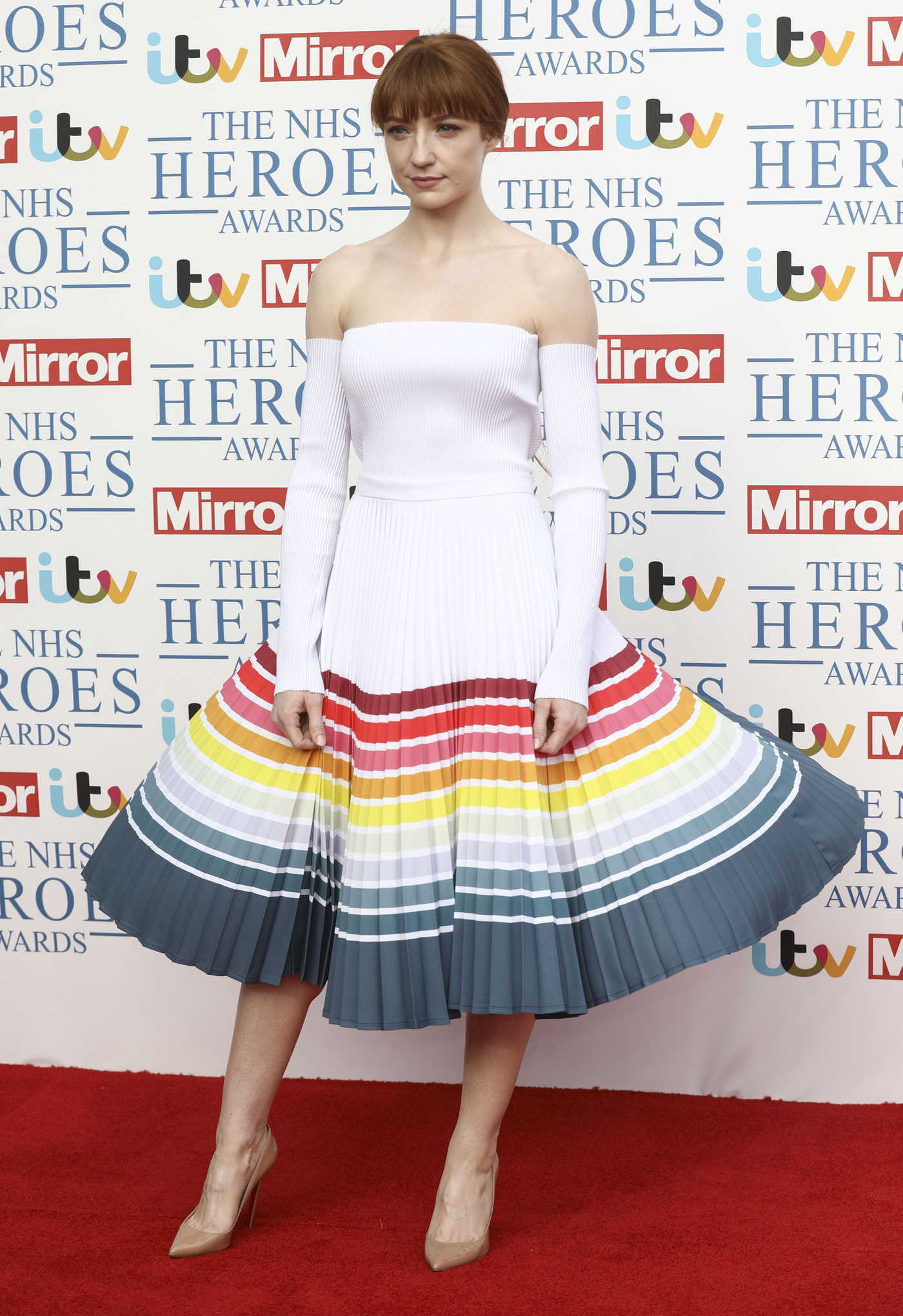 Nicola Roberts at NHS Heroes Awards in London 05/14/2018