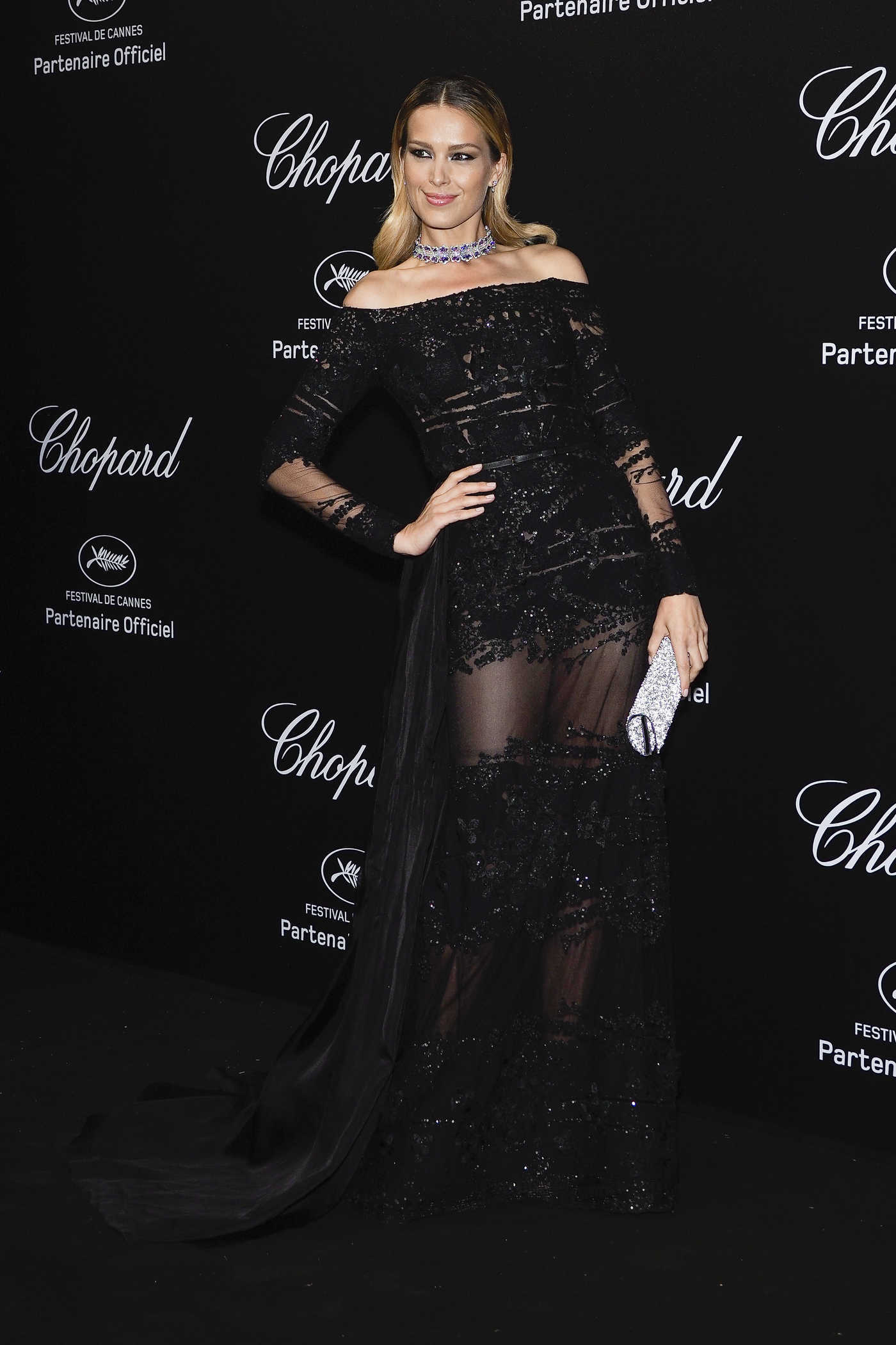 Petra Nemcova at the Secret Chopard Party During the 71st Annual Cannes Film Festival 05/11/2018
