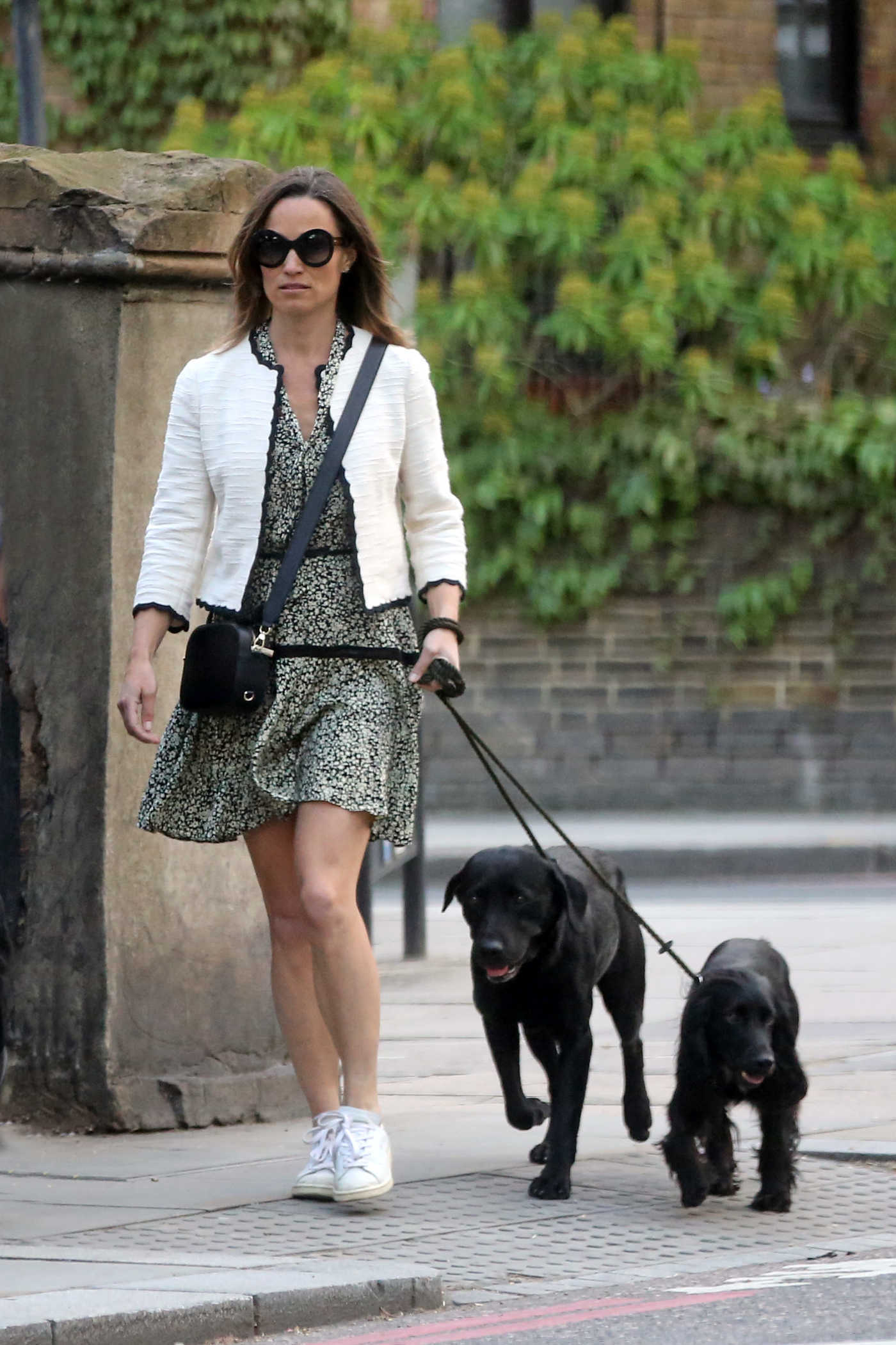 Pippa Middleton Walks Her Dog Out in London 05/12/2018