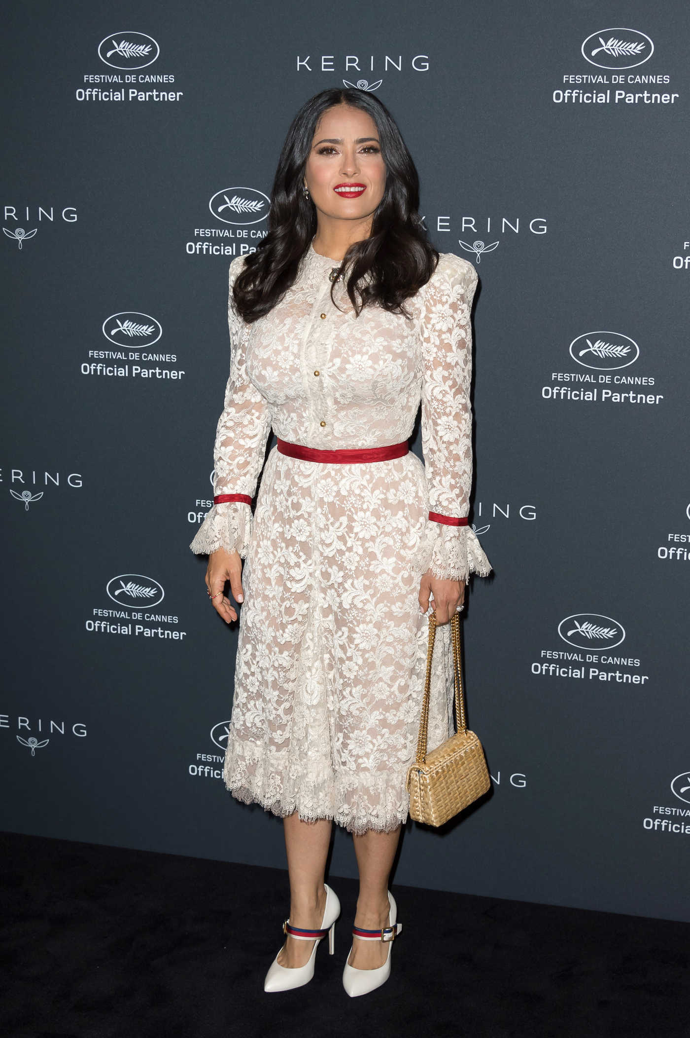 Salma Hayek at the Kering Dinner During the 71st Annual Cannes Film Festival 05/13/2018