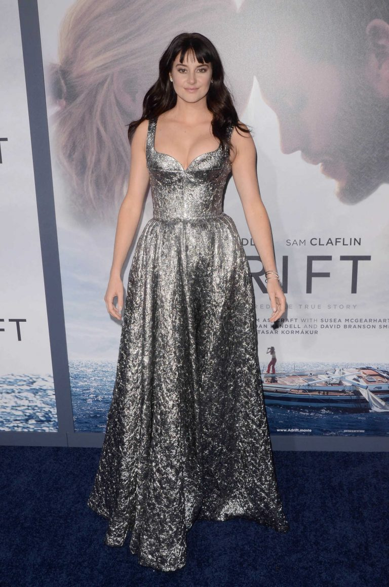 Shailene Woodley at Adrift Premiere at Regal LA Live Stadium 14 in Los Angeles 05/23/2018-1