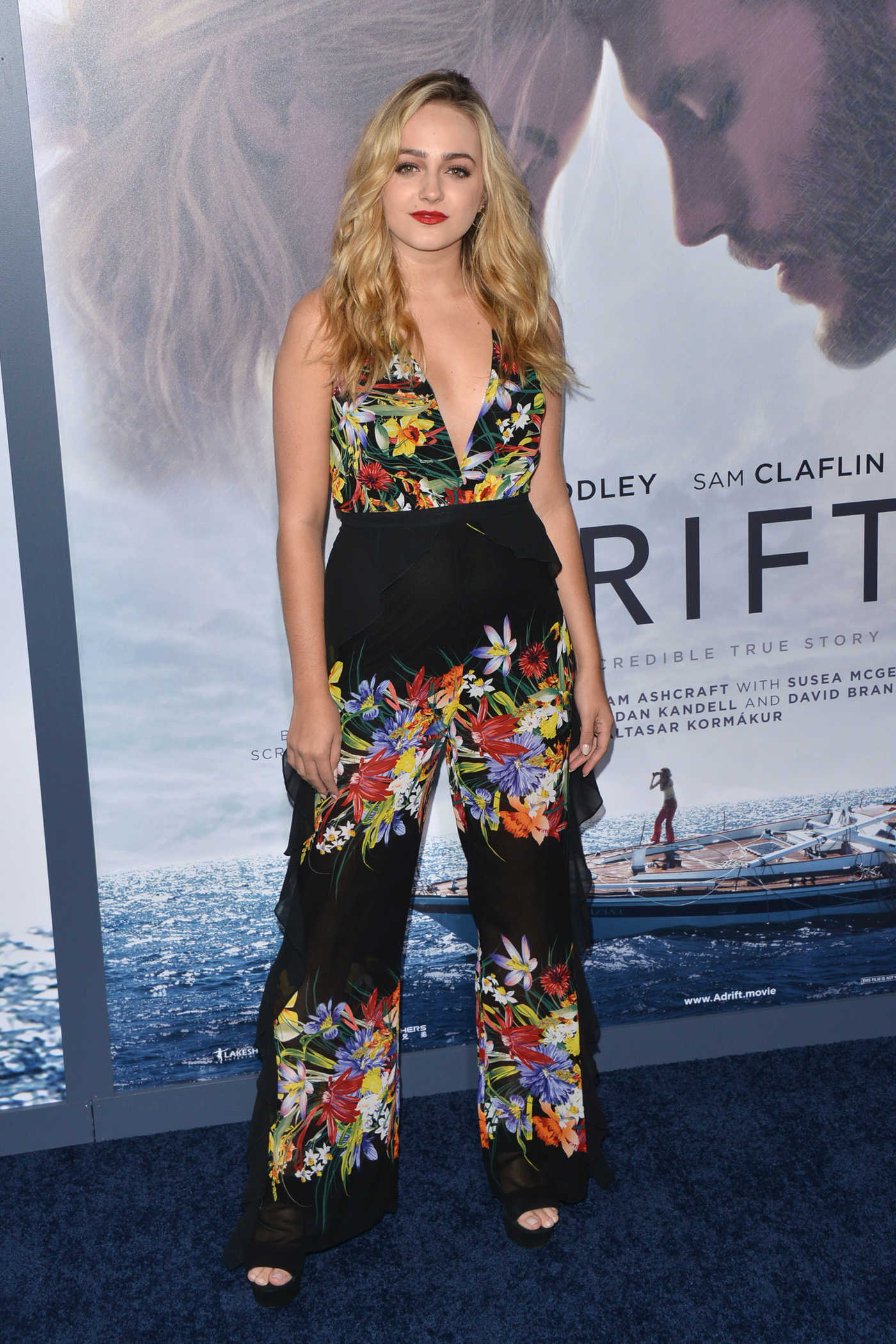 Sophie Reynolds at Adrift Premiere at Regal LA Live Stadium 14 in Los Angeles 05/23/2018
