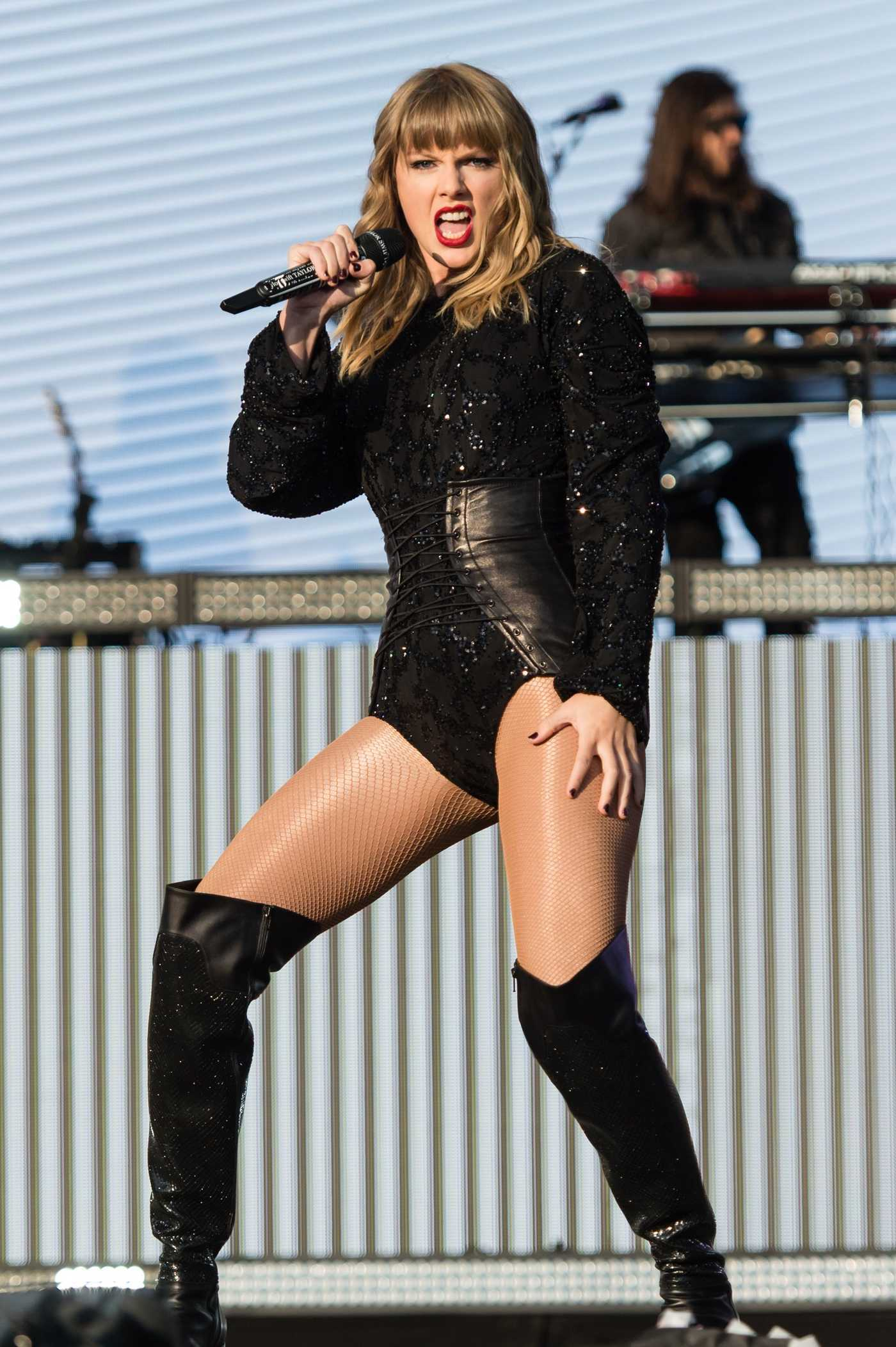 Taylor Swift Performs at BBC The Biggest Weekend Festival in Swansea 05/27/2018