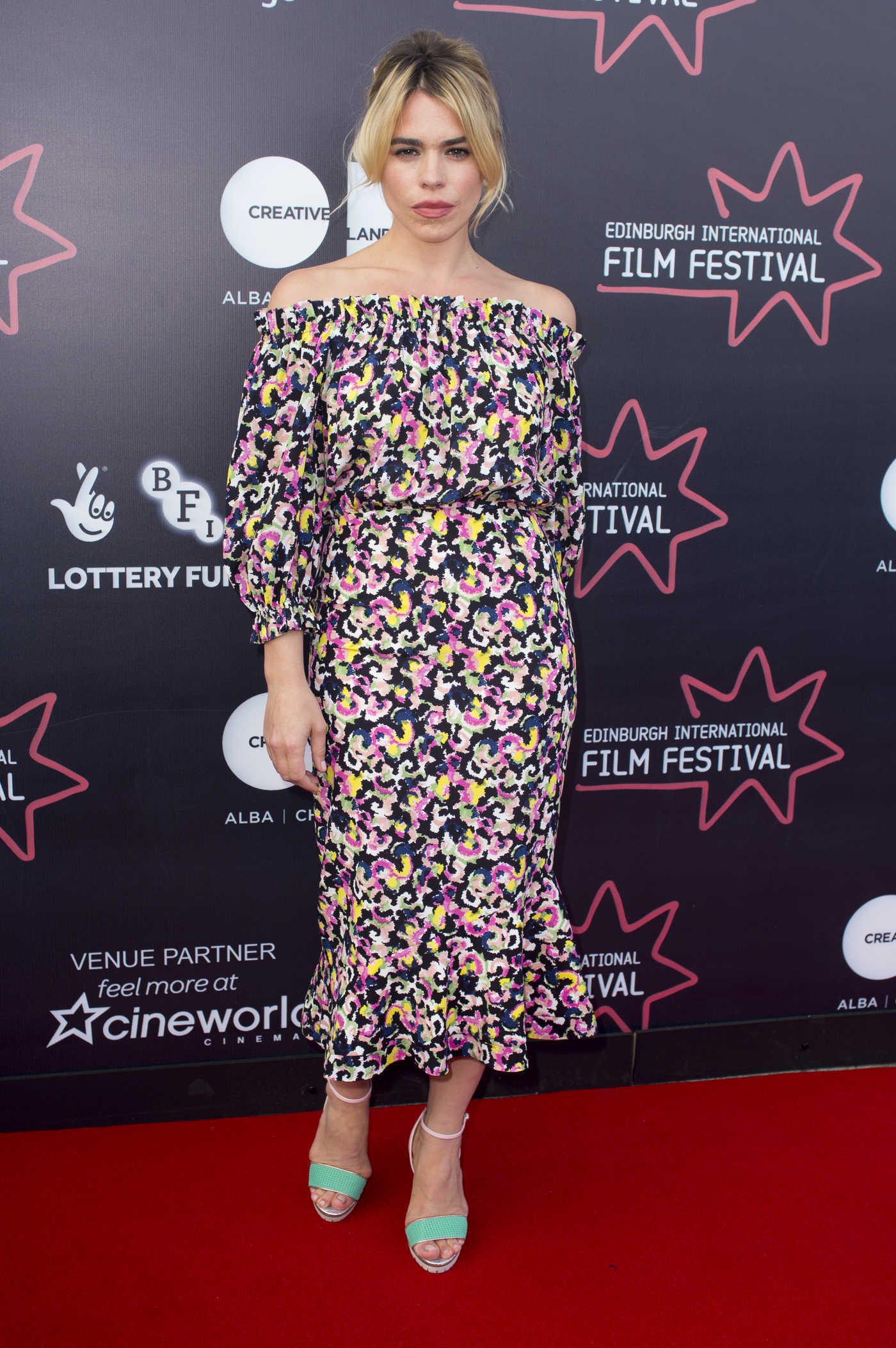Billie Piper at the Two for Joy Premiere During Edinburgh International Film Festival in Edinburgh 06/23/2018