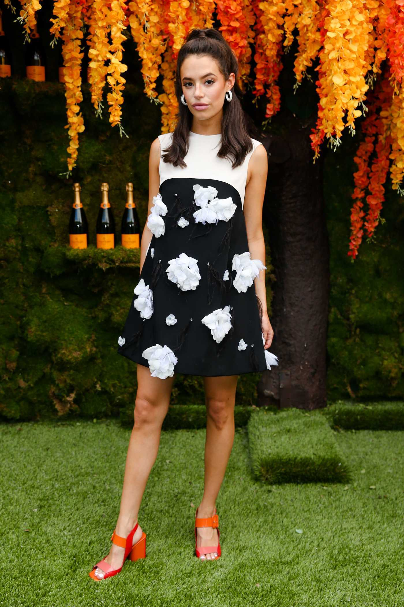 Chloe Bridges at the 11th Annual Veuve Clicquot Polo Classic in New Jersey 06/02/2018