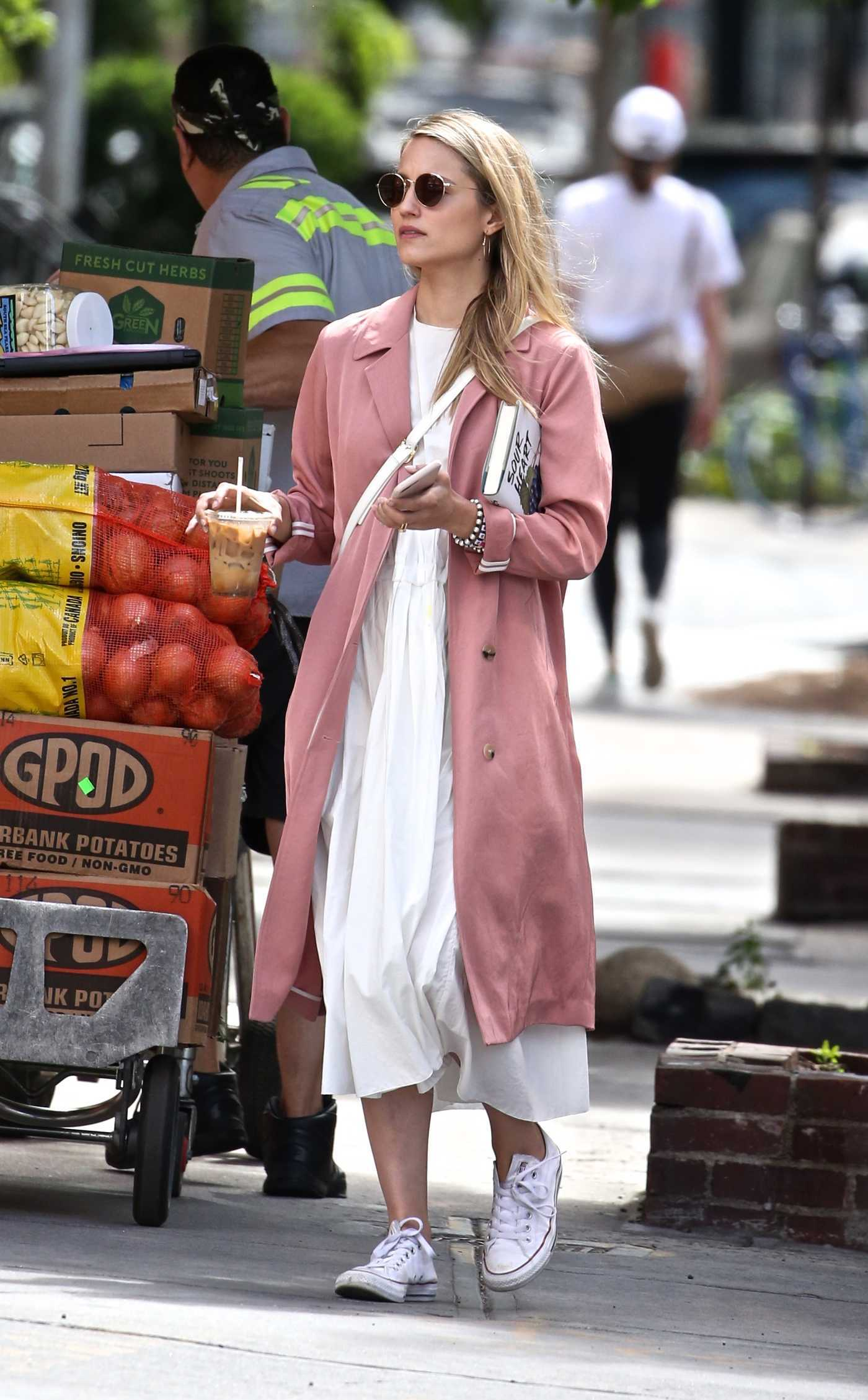 Dianna Agron Was Seen Out in NYC 06/15/2018