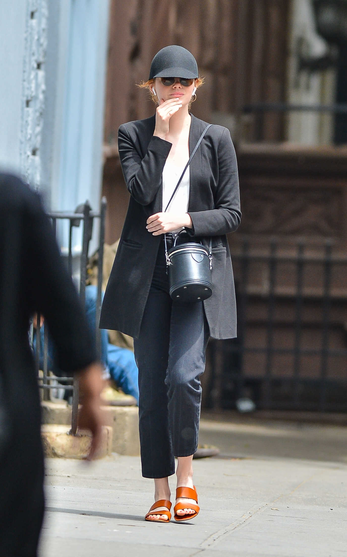 Emma Stone Out on a Stroll in New York City 06/26/2018