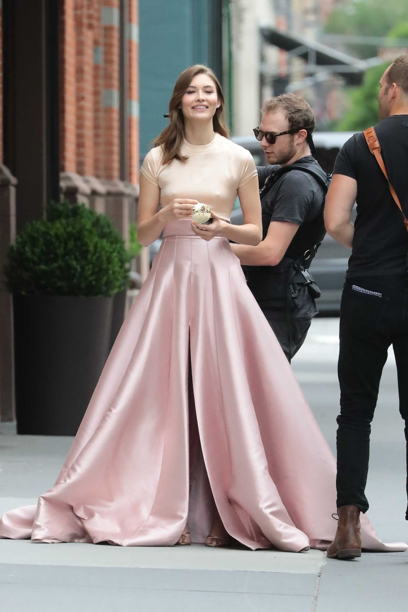 Grace Elizabeth Does a Photo Shoot Out in New York 06/06/2018
