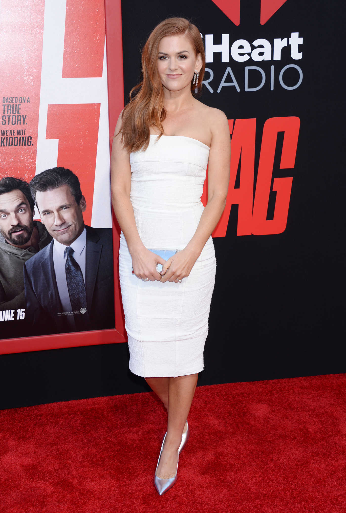 Isla Fisher at the TAG Premiere in Westwood 06/07/2018