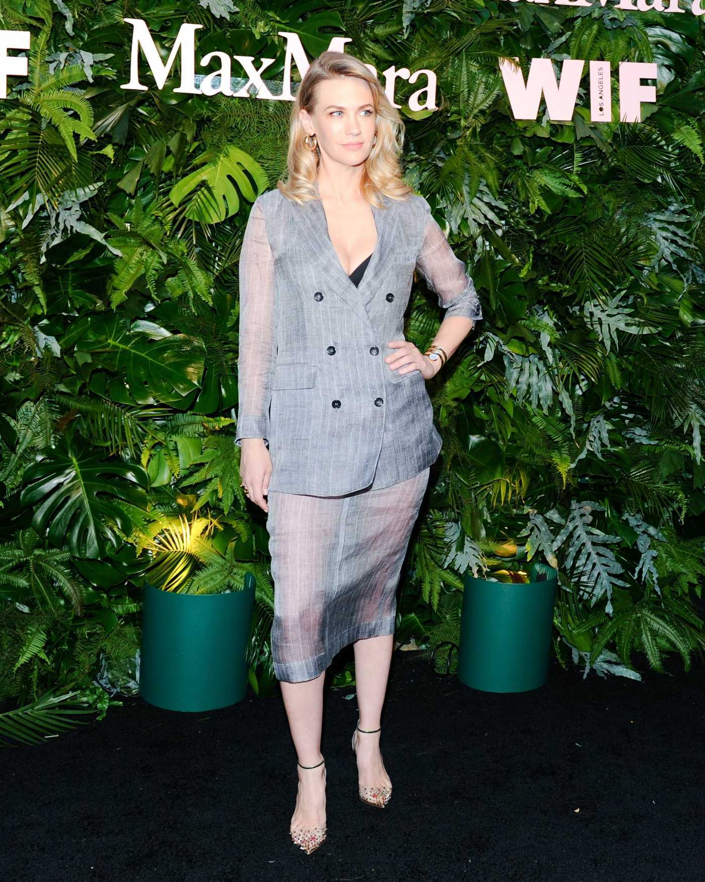 January Jones at 2018 MaxMara WIF Face of the Future in Los Angeles 06/12/2018