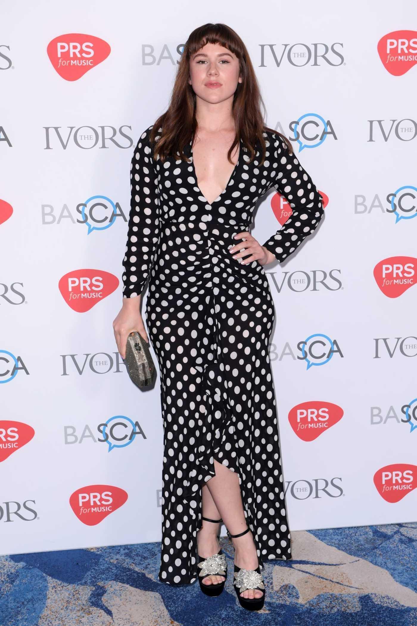 Katy B at 2018 Ivor Novello Awards in London 05/31/2018