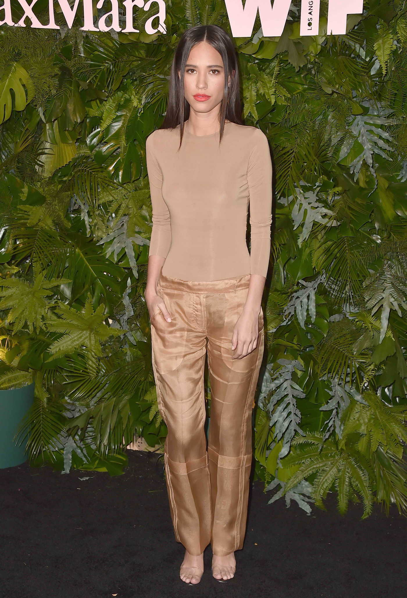 Kelsey Chow at 2018 MaxMara WIF Face of the Future in Los Angeles 06/12/2018