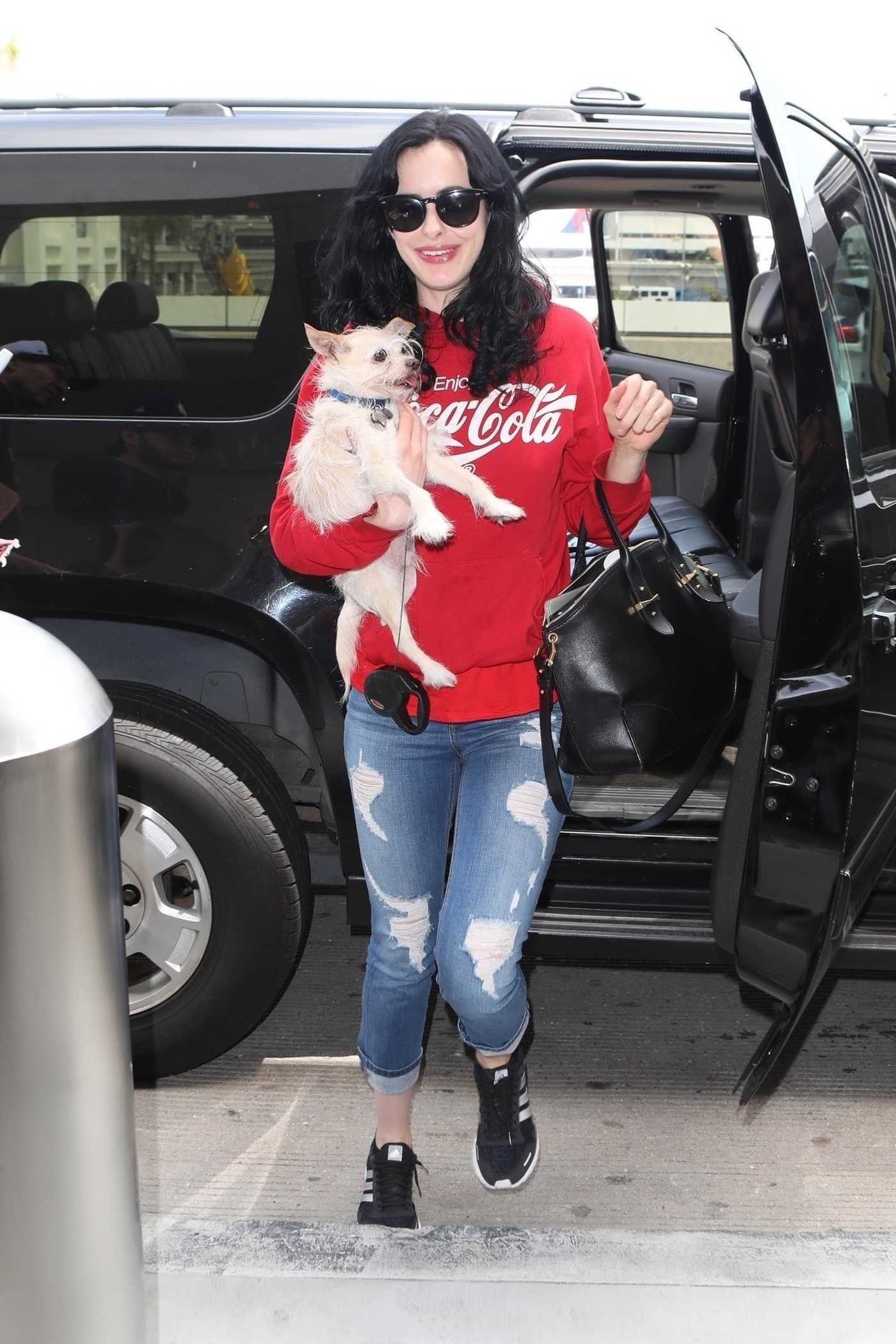 Krysten Ritter Arrives at LAX Airport in LA 06/04/2018