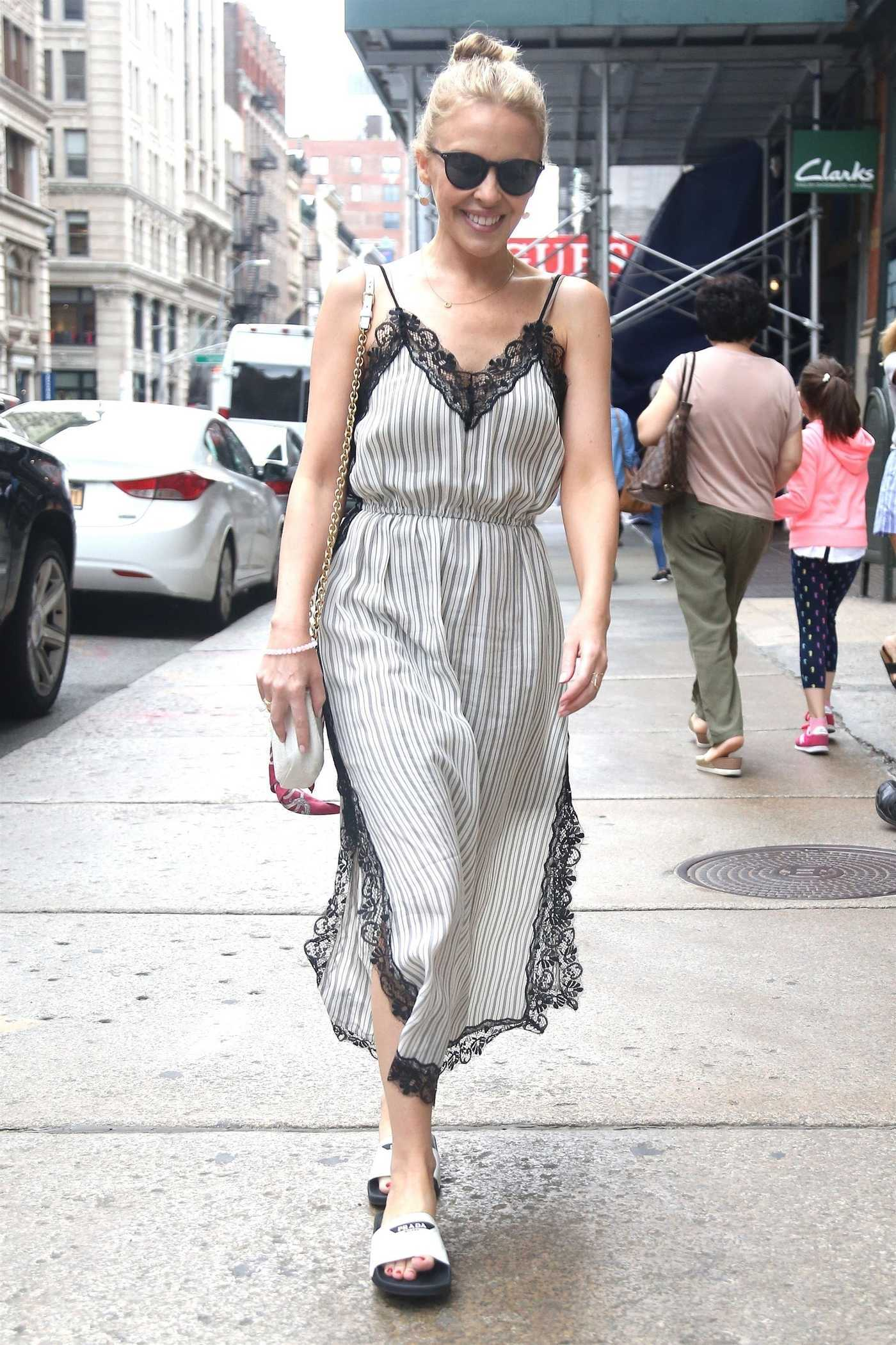 Kylie Minogue Was Seen Out in New York City 06/27/2018