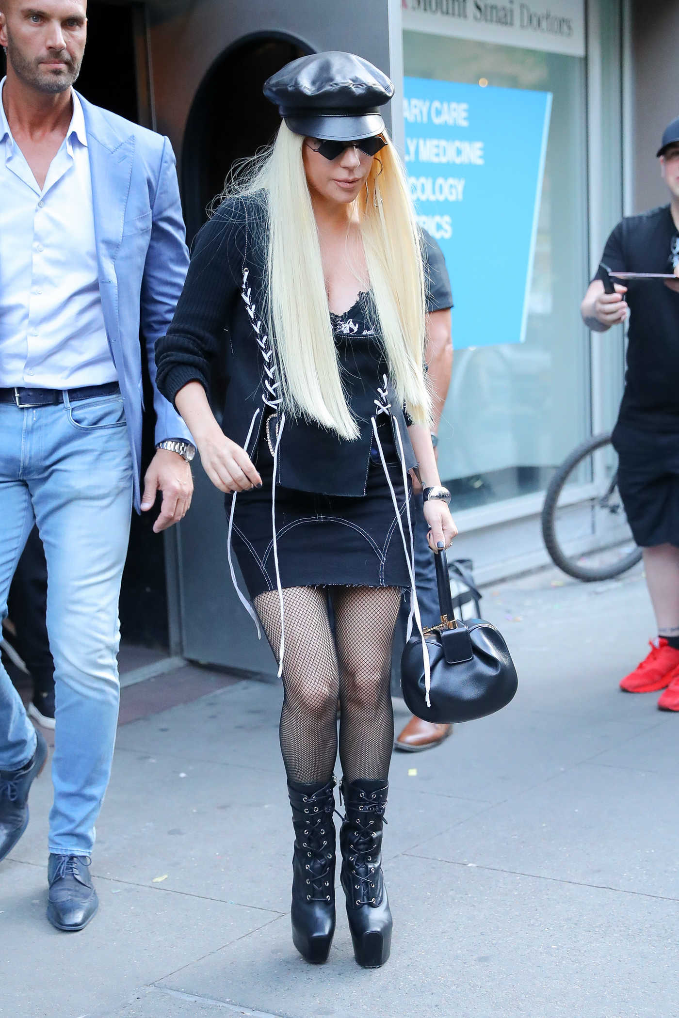 Lady Gaga Was Seen Out in New York 06/25/2018
