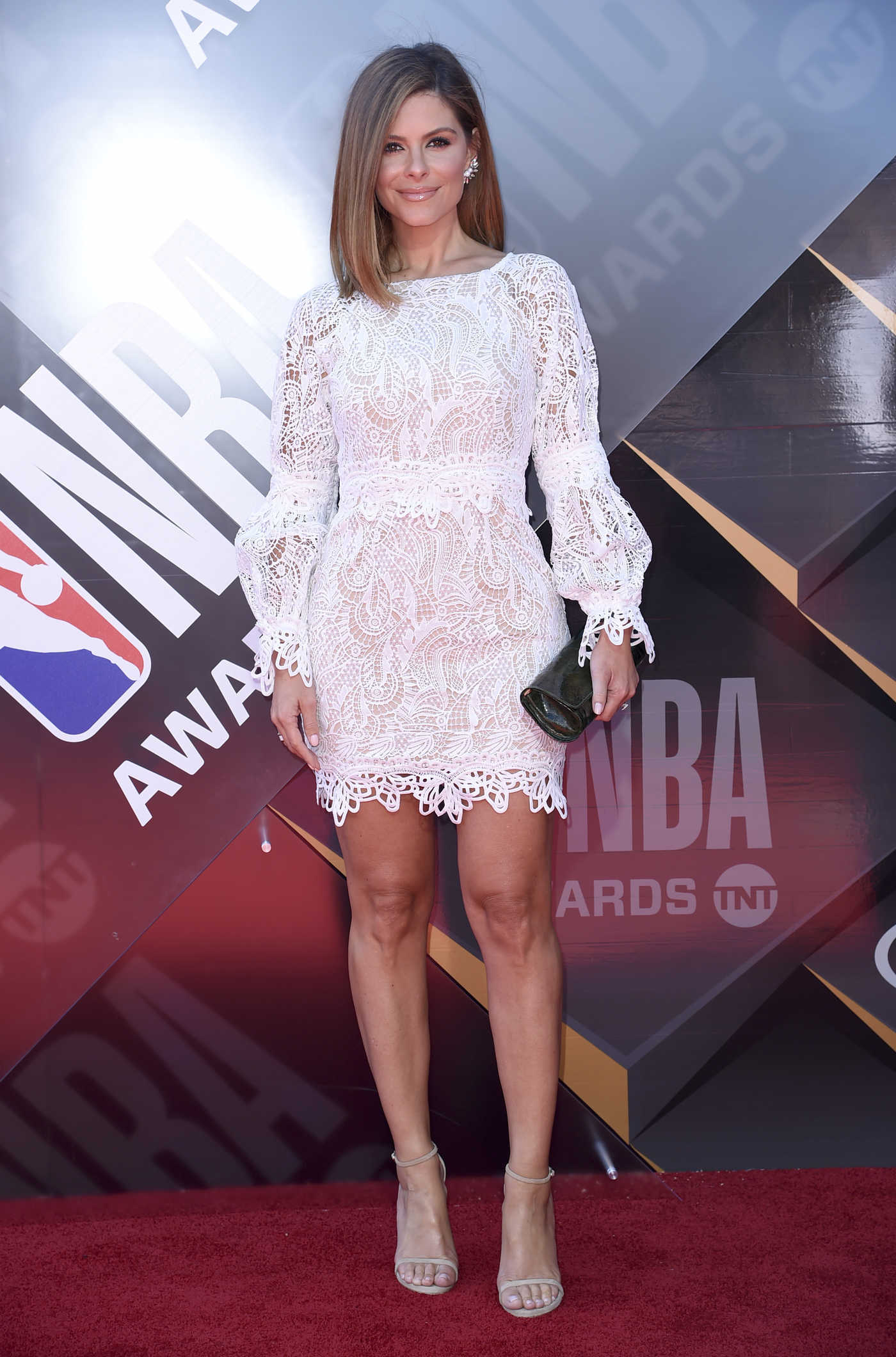 Maria Menounos at 2018 NBA Awards at Barker Hangar in Santa Monica 06/25/2018