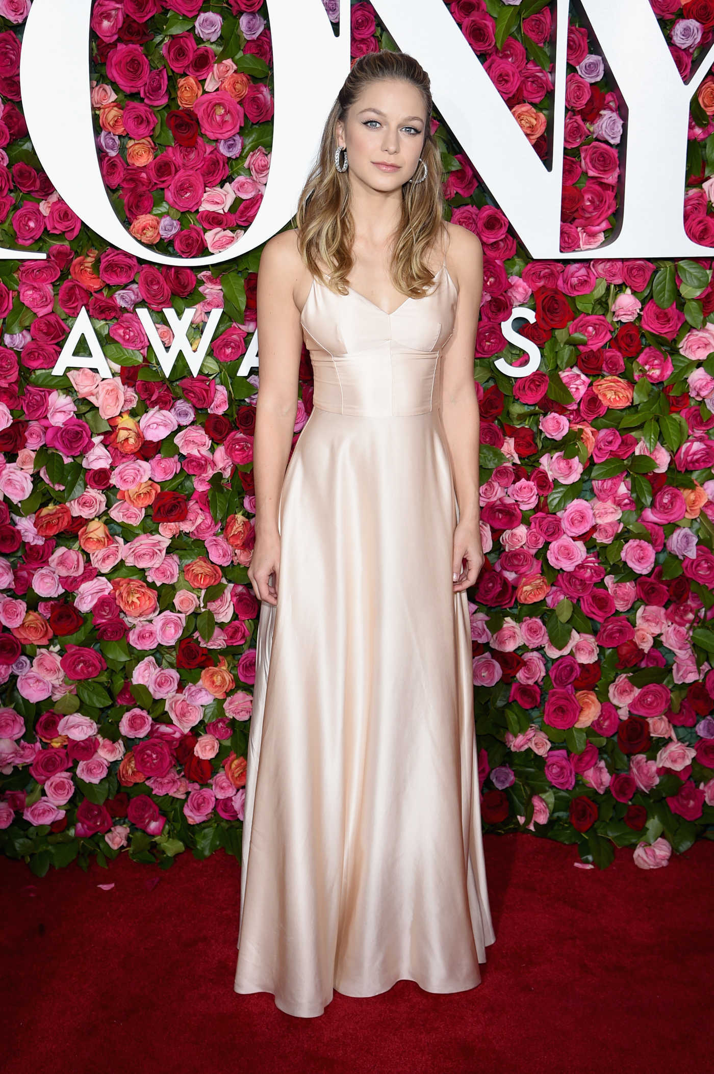 Melissa Benoist at the 72nd Annual Tony Awards in New York City 06/10/2018