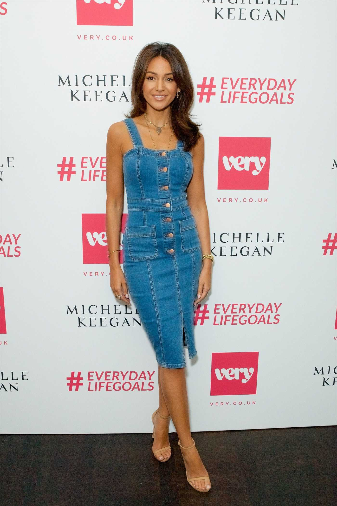 Michelle Keegan at Her Very Collection Launch Party in London 06/04/2018