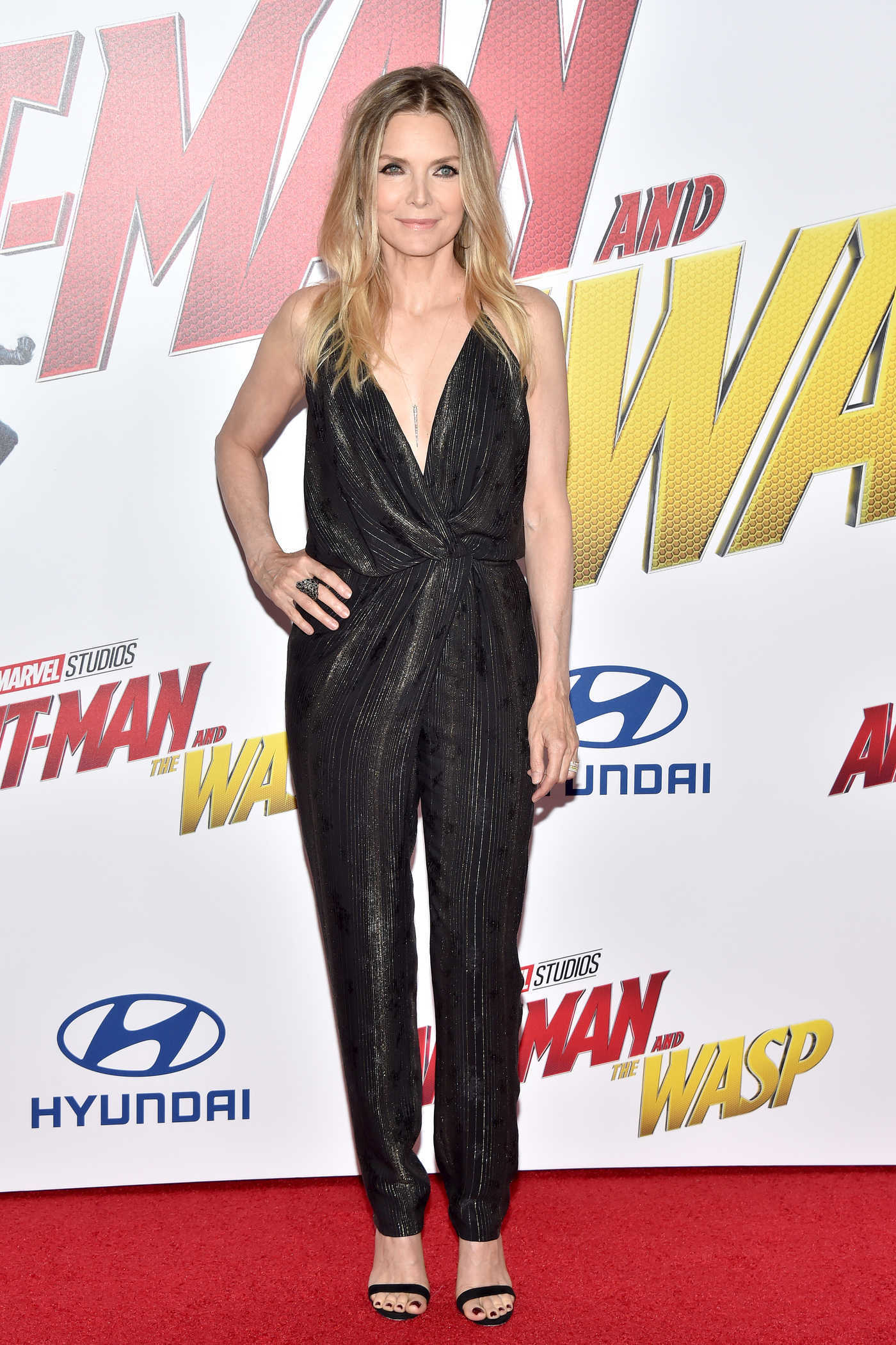 Michelle Pfeiffer at Marvel's Ant-Man and the Wasp Premiere in Los Angeles 06/25/2018