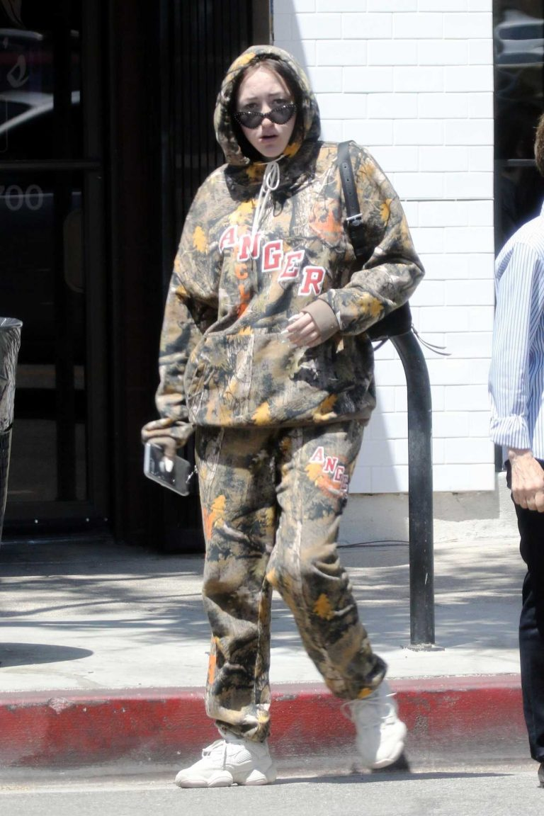 Noah Cyrus Was Seen in Studio City Hanging Out with a Friend 06/19/2018-1