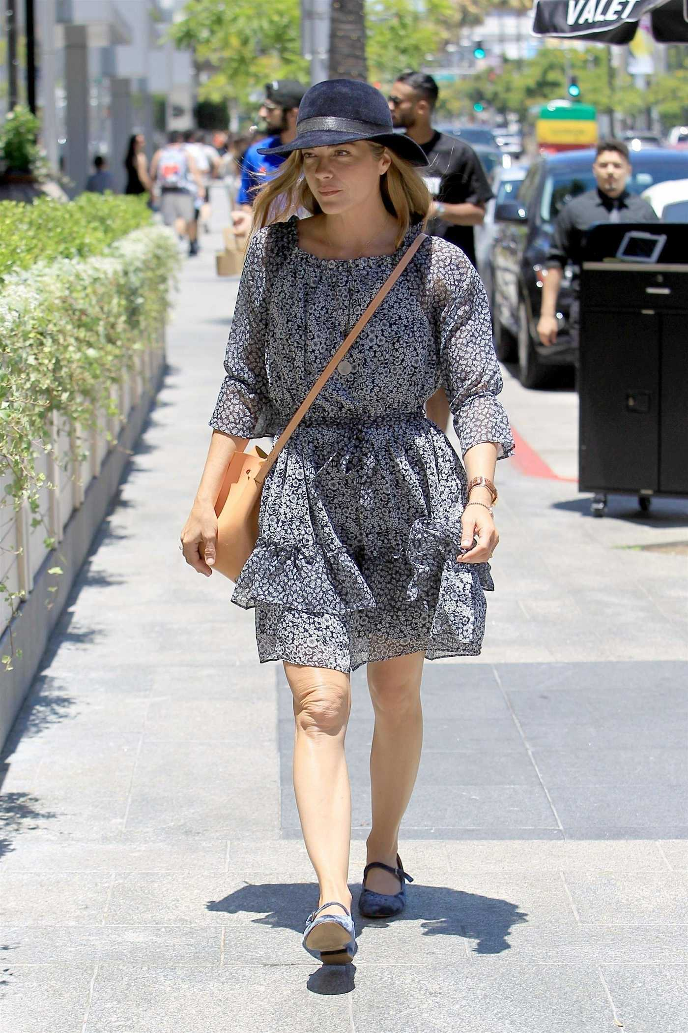 Selma Blair Was Seen Out For Lunch at Avra in Beverly Hills 06/26/2018