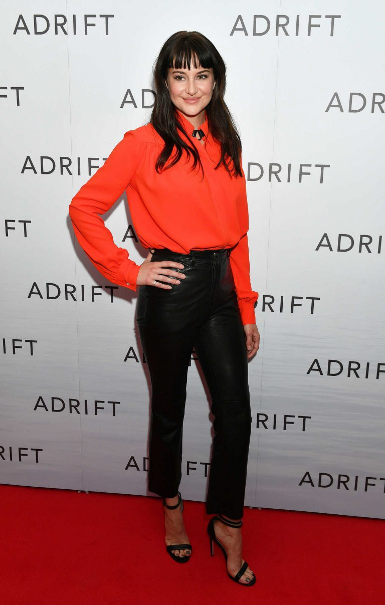 Shailene Woodley at Adrift Special Screening in London 06/24/2018-1