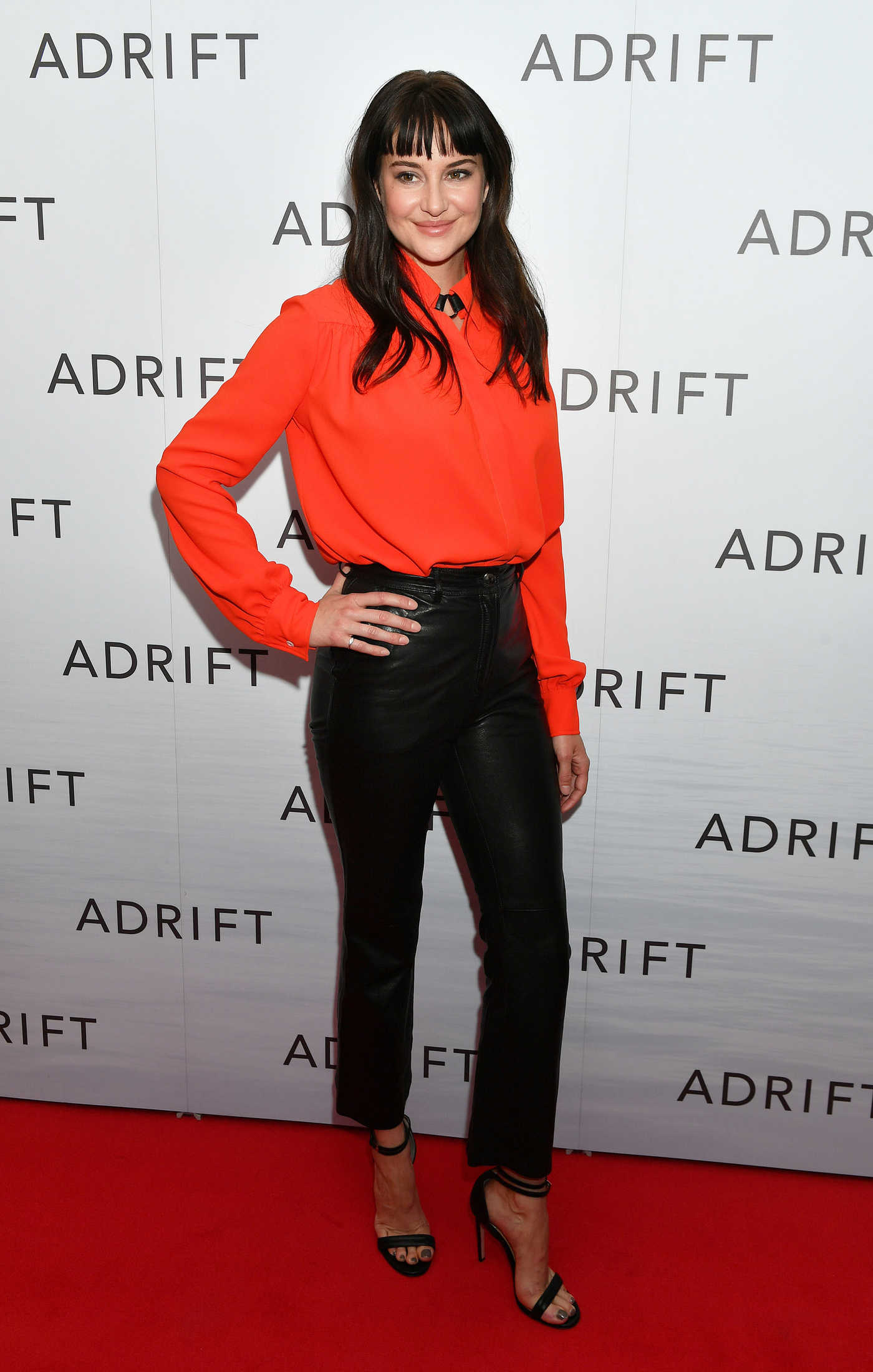 Shailene Woodley at Adrift Special Screening in London 06/24/2018