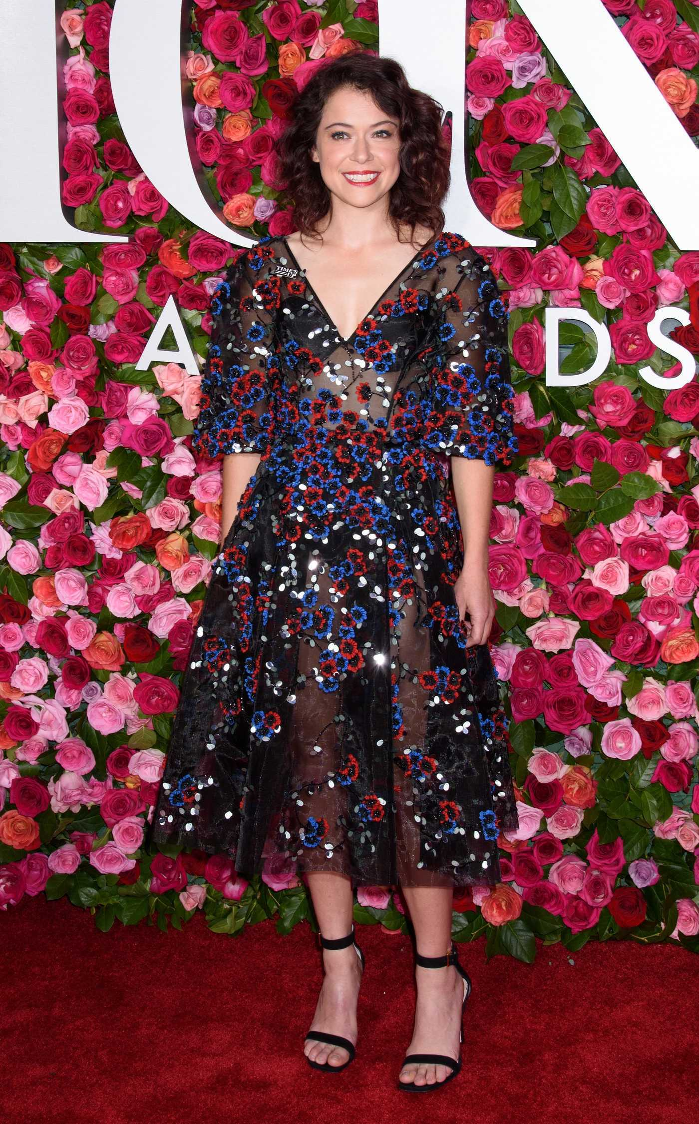 Tatiana Maslany at the 72nd Annual Tony Awards in New York City 06/10/2018