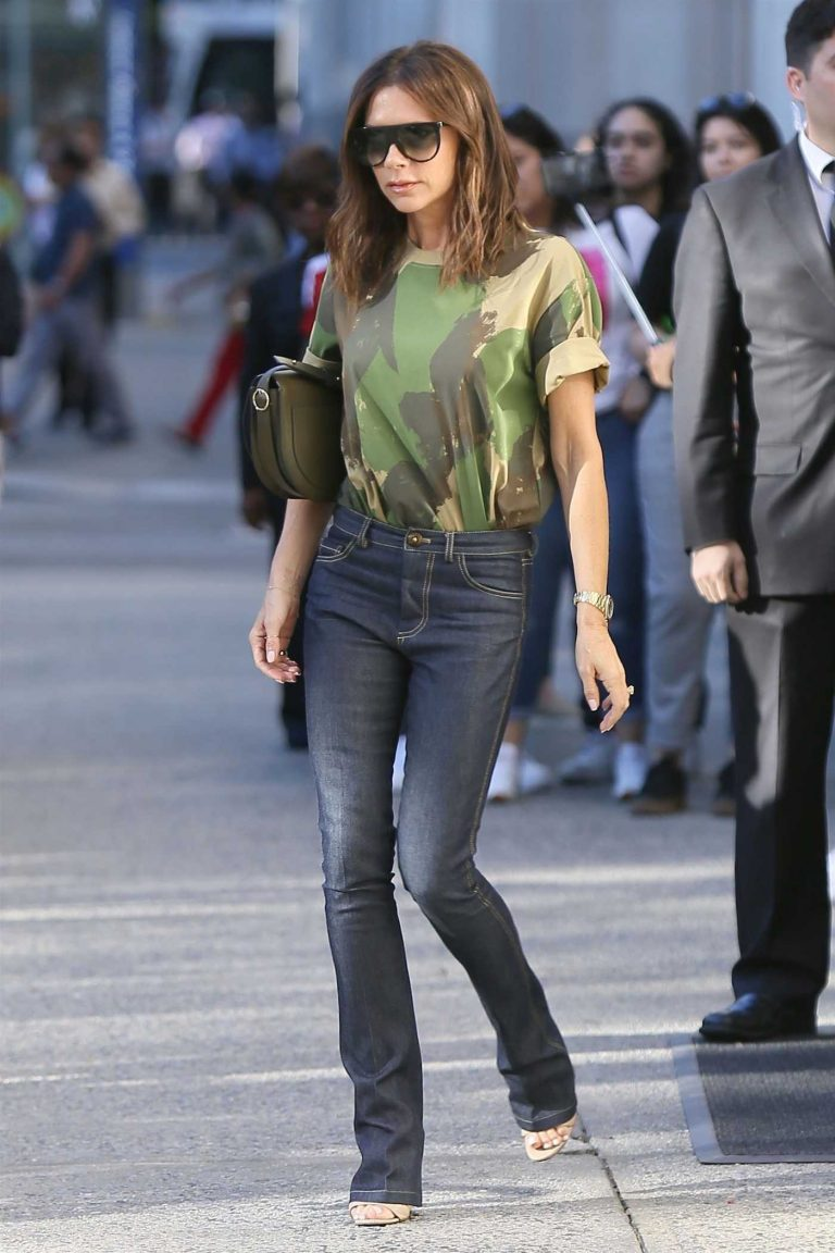 Victoria Beckham Leaves Her Hotel in New York 06/19/2018-1