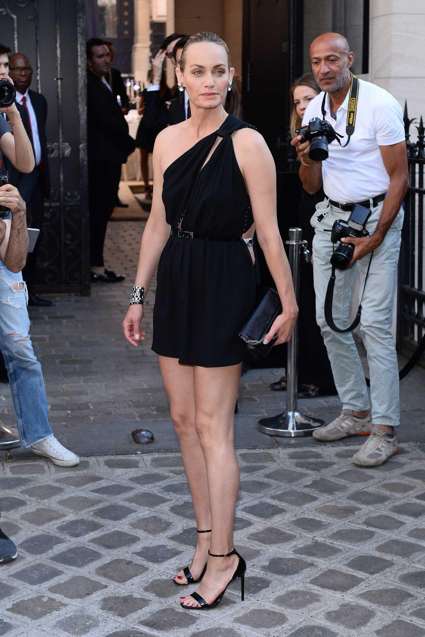 Amber Valletta Attends 2018 Vogue Foundation Dinner at Palais Galleria in Paris 07/03/2018