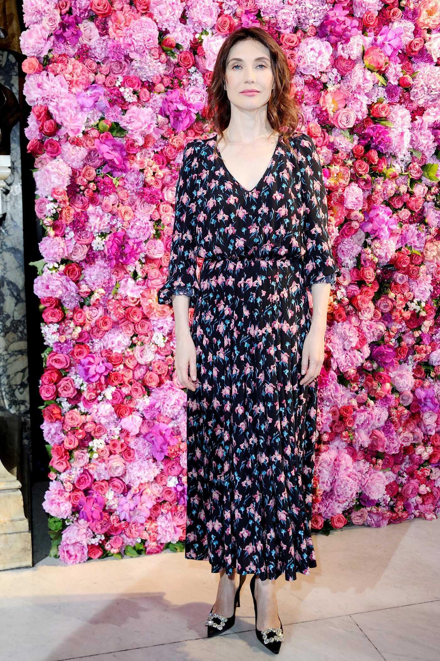 Carice Van Houten Attends 2018 Schiaparelli Haute Couture Fall Winter Show in Paris 07/02/2018