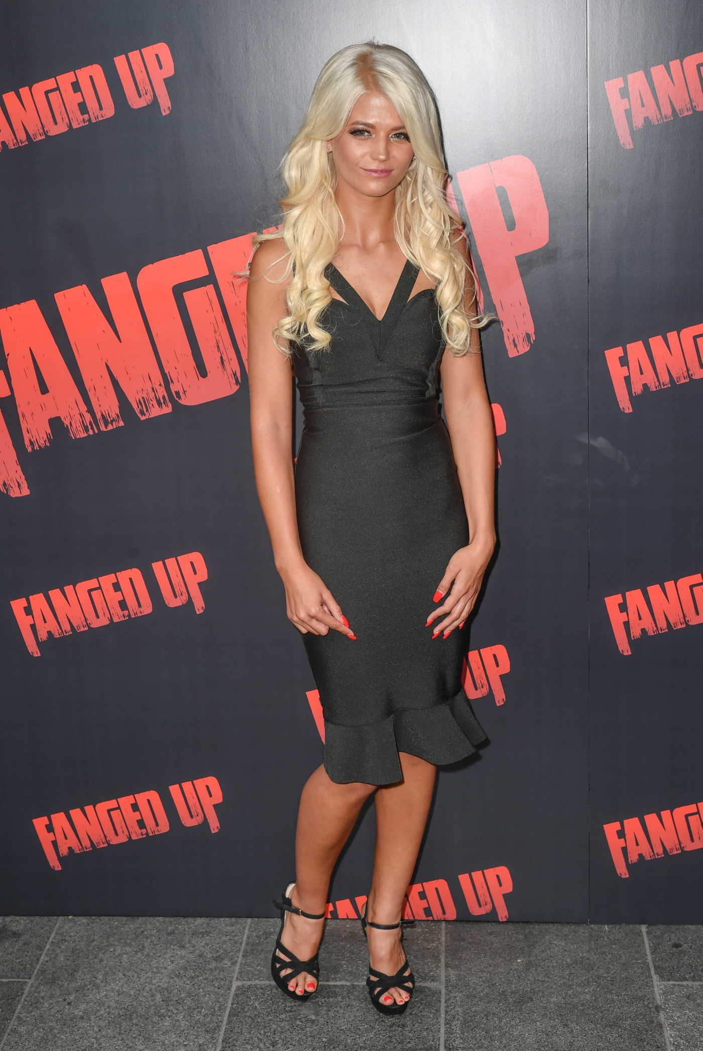 Danielle Harold at Fanged Up Premiere at Prince Charles Cinema in London 07/25/2018
