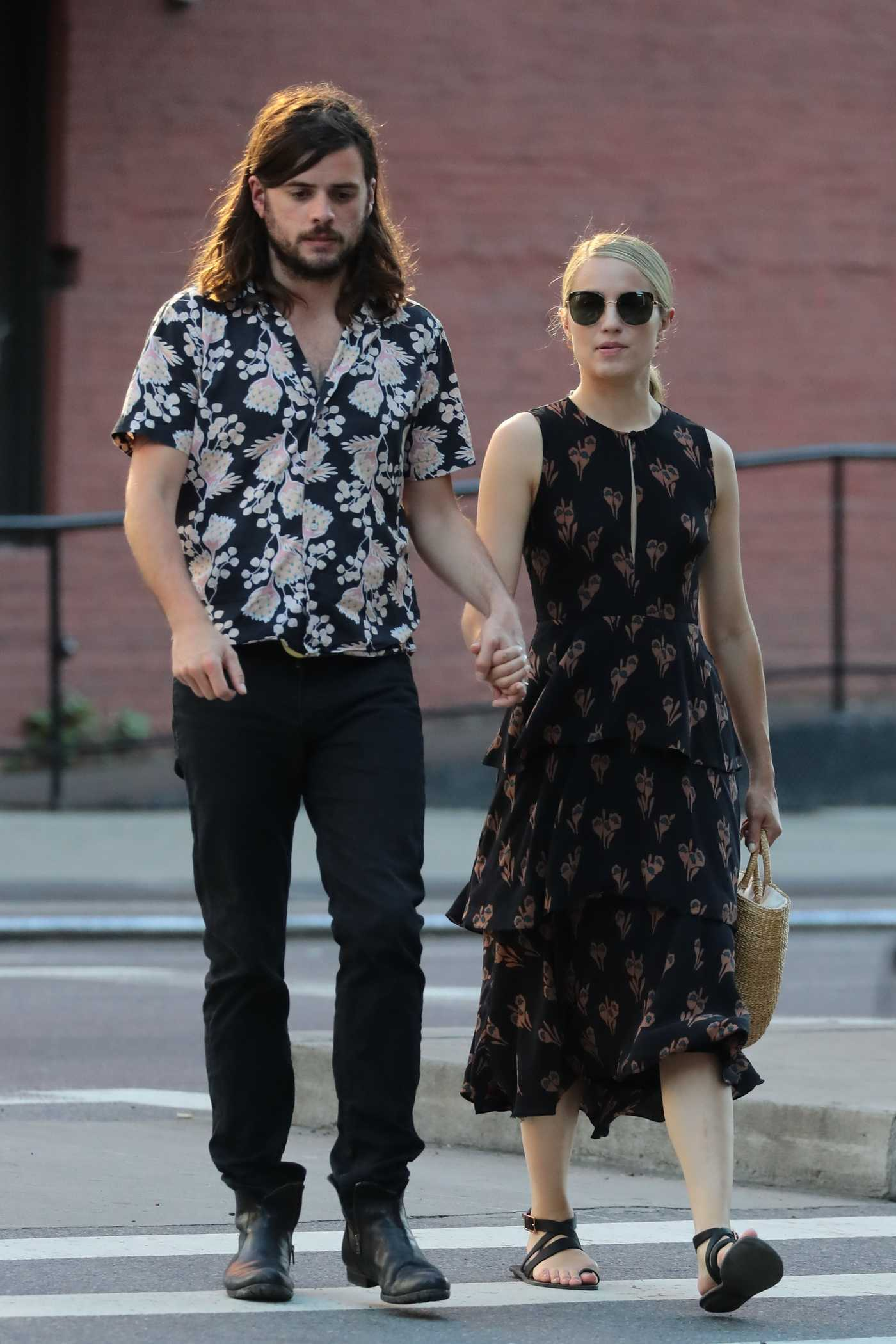 Dianna Agron Was Spotted Out with Her Husband Winston Marshall in New York City 07/09/2018
