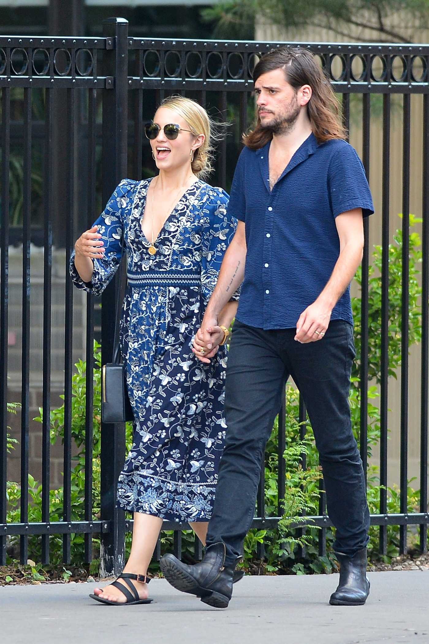 Dianna Agron Was Spotted Out with Winston Marshall in New York City 07/19/2018