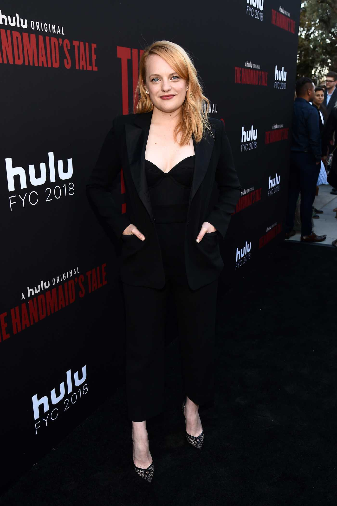 Elisabeth Moss Attends The Handmaid's Tale TV Show Finale in Los Angeles 07/09/2018