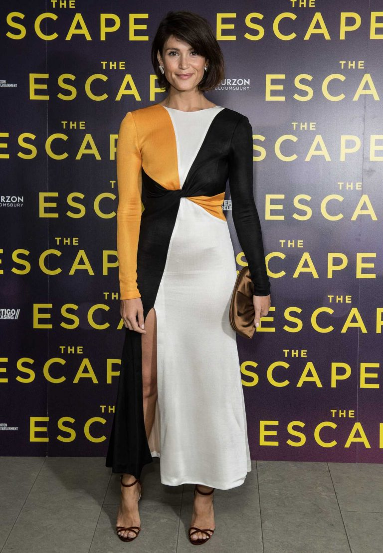 Gemma Arterton at The Escape Screening in London 07/19/2018-1