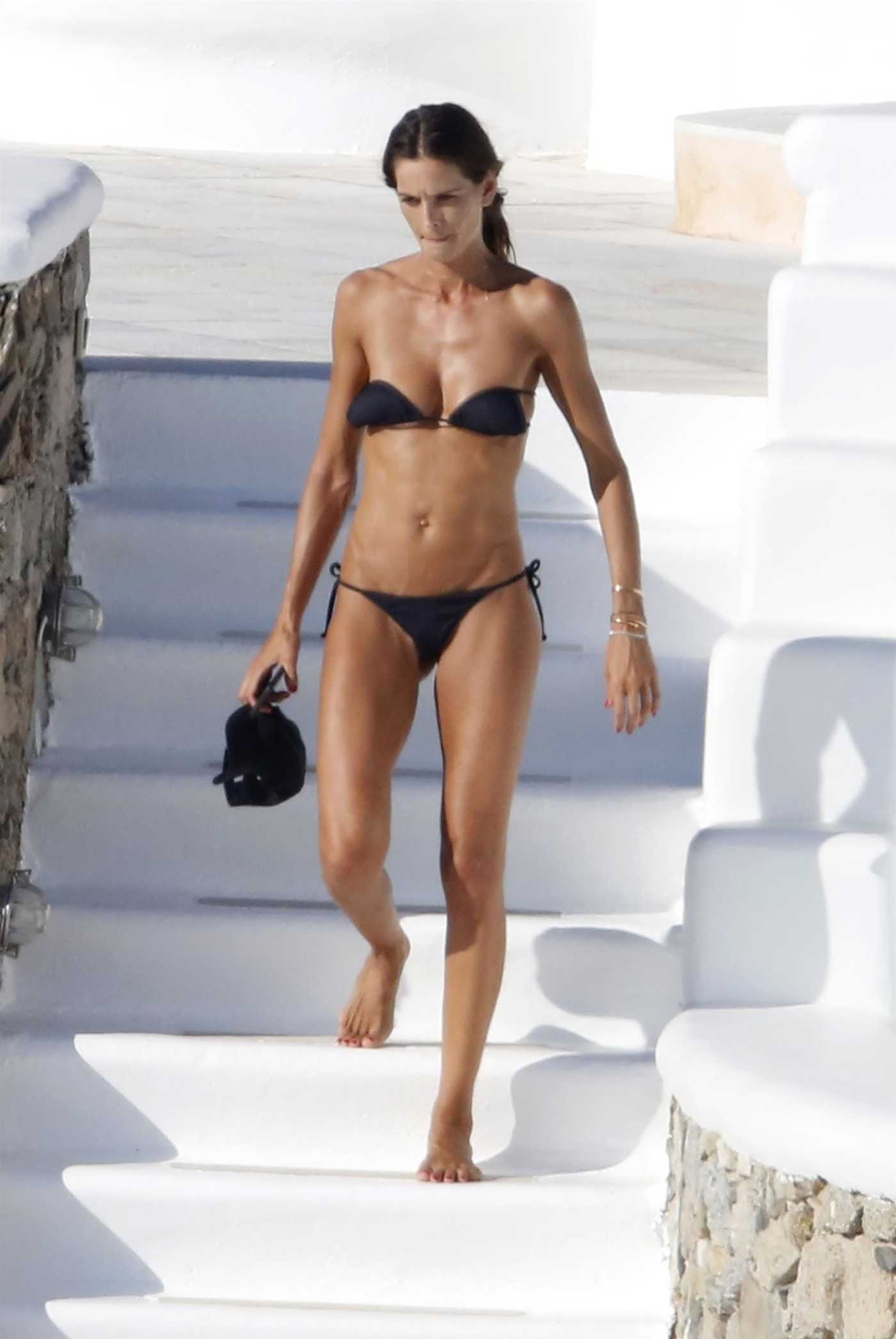 Izabel Goulart in Bikini by the Pool on Mykonos Island 07/11/2018